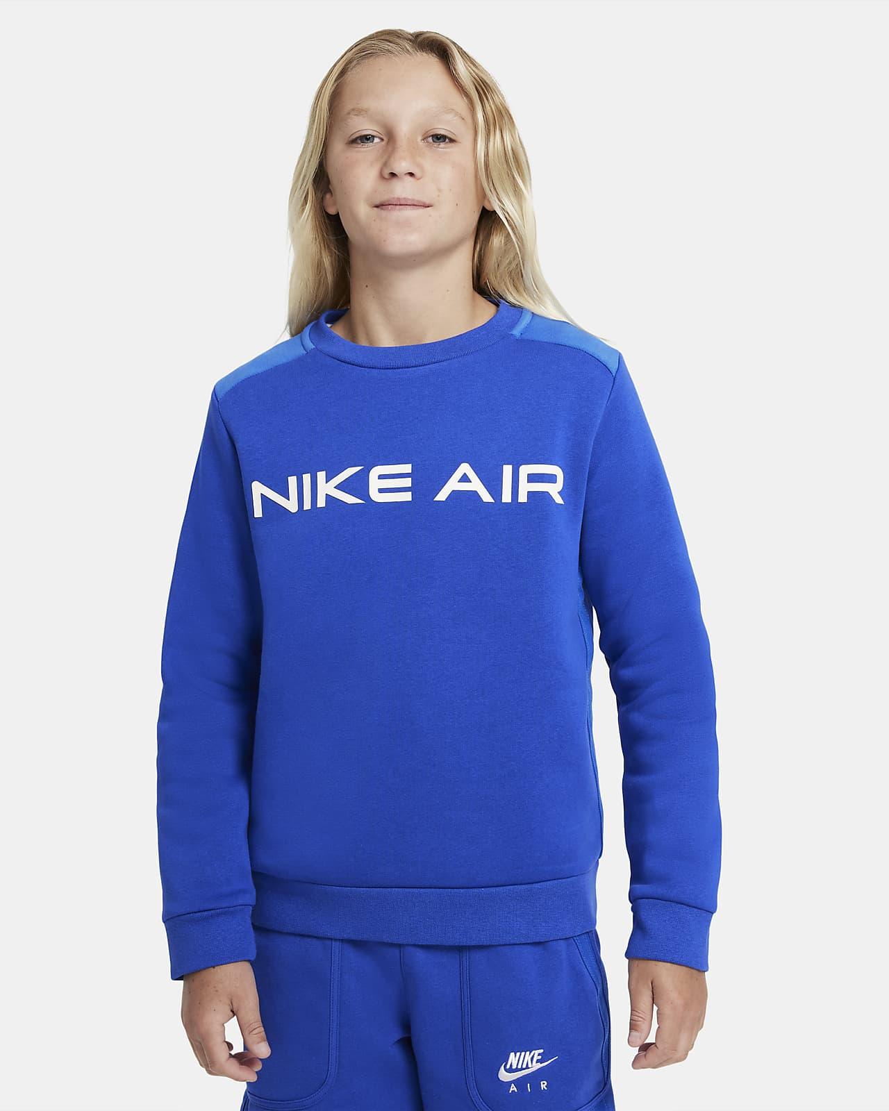 Nike Air-crewtrøje til større børn (drenge)
