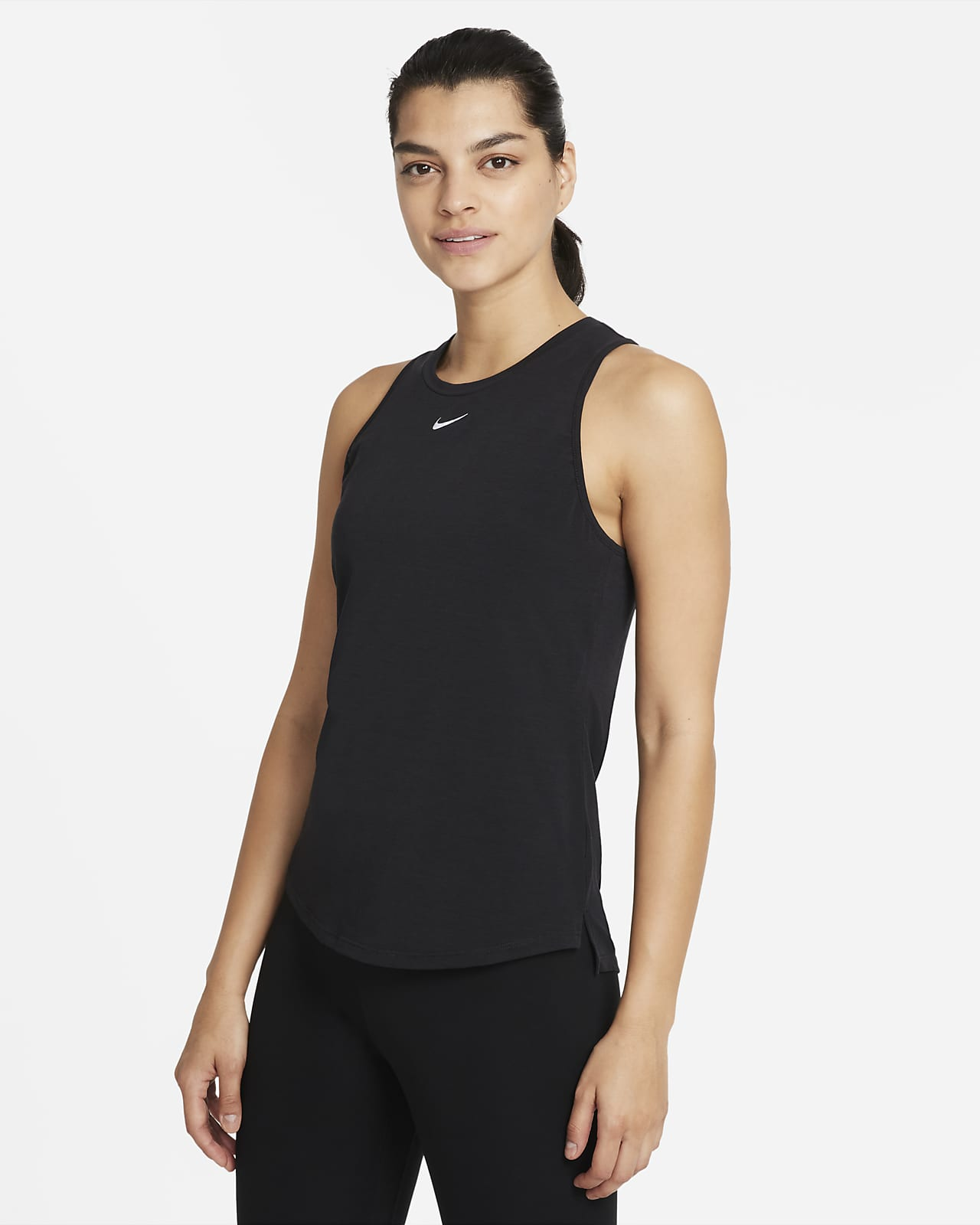 Camiseta de tirantes de ajuste estándar para mujer Nike Dri-FIT One Luxe