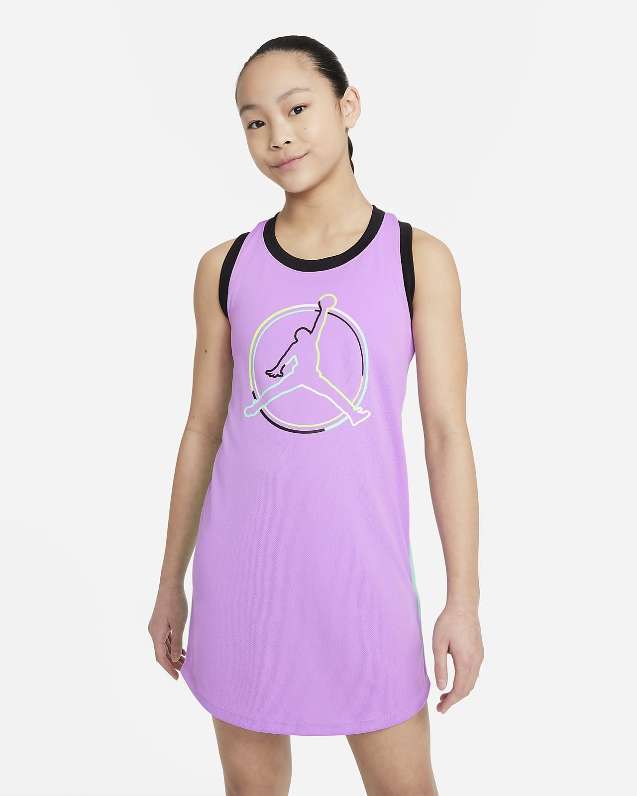 Vestido Jordan para niñas talla grande