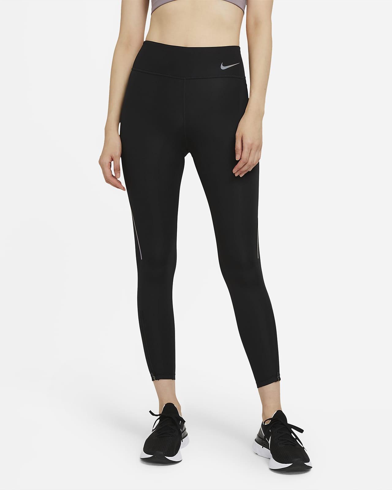 เลกกิ้งวิ่งเอวปานกลาง 7/8 ส่วนผู้หญิง Nike Epic Faster