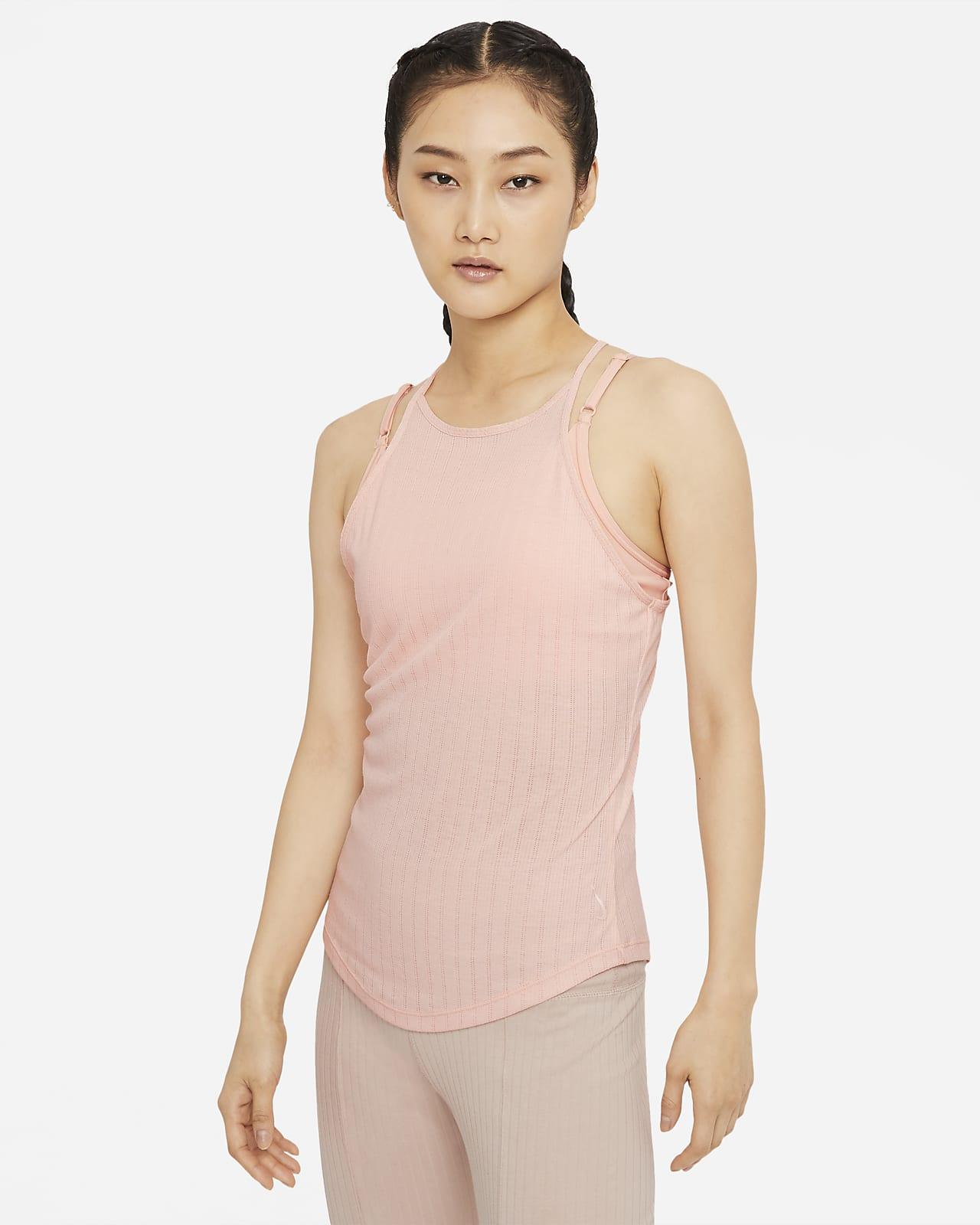 เสื้อกล้ามผู้หญิง Nike Yoga Pointelle