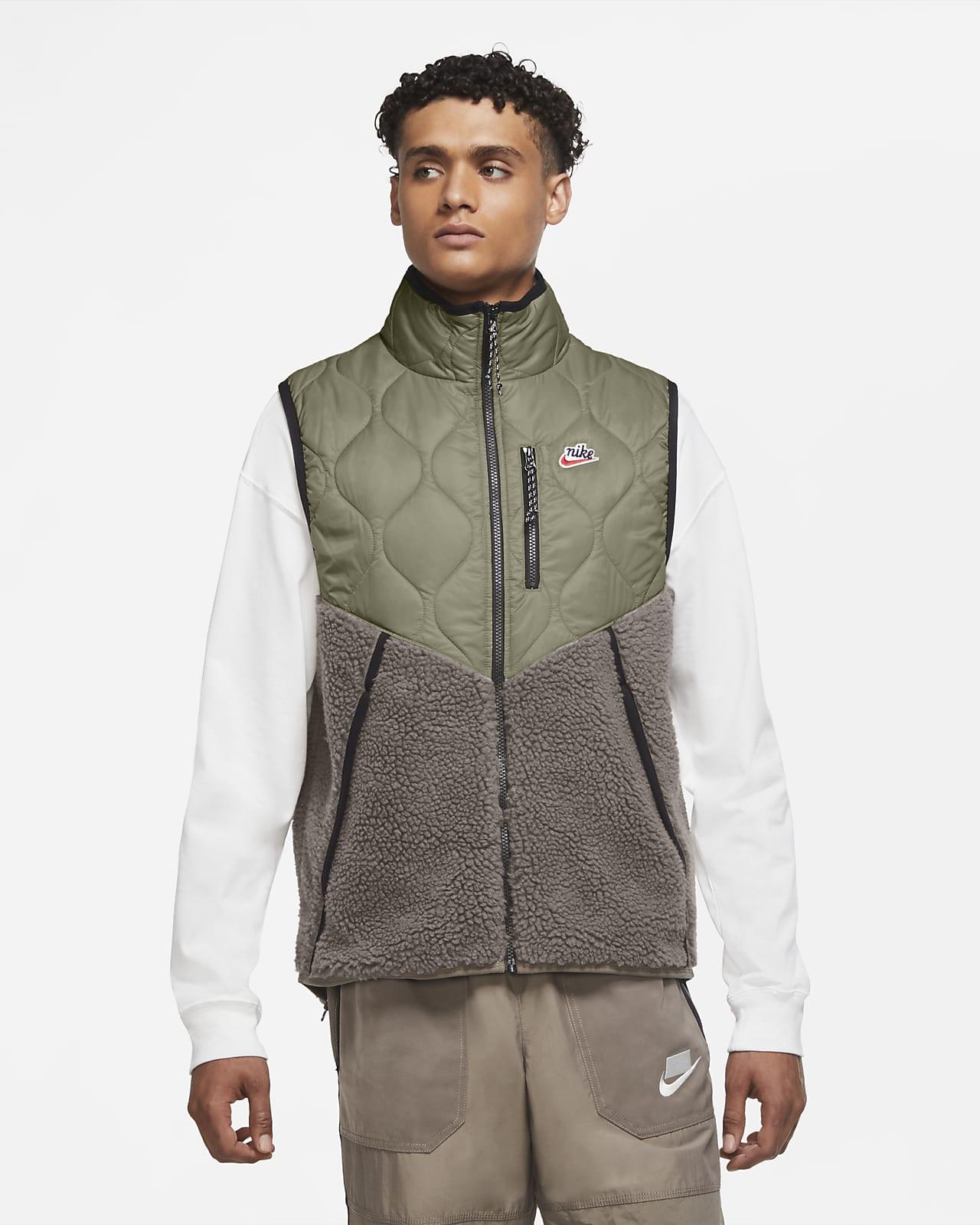 Nike Sportswear Heritage Herren-Weste mit Isolierung