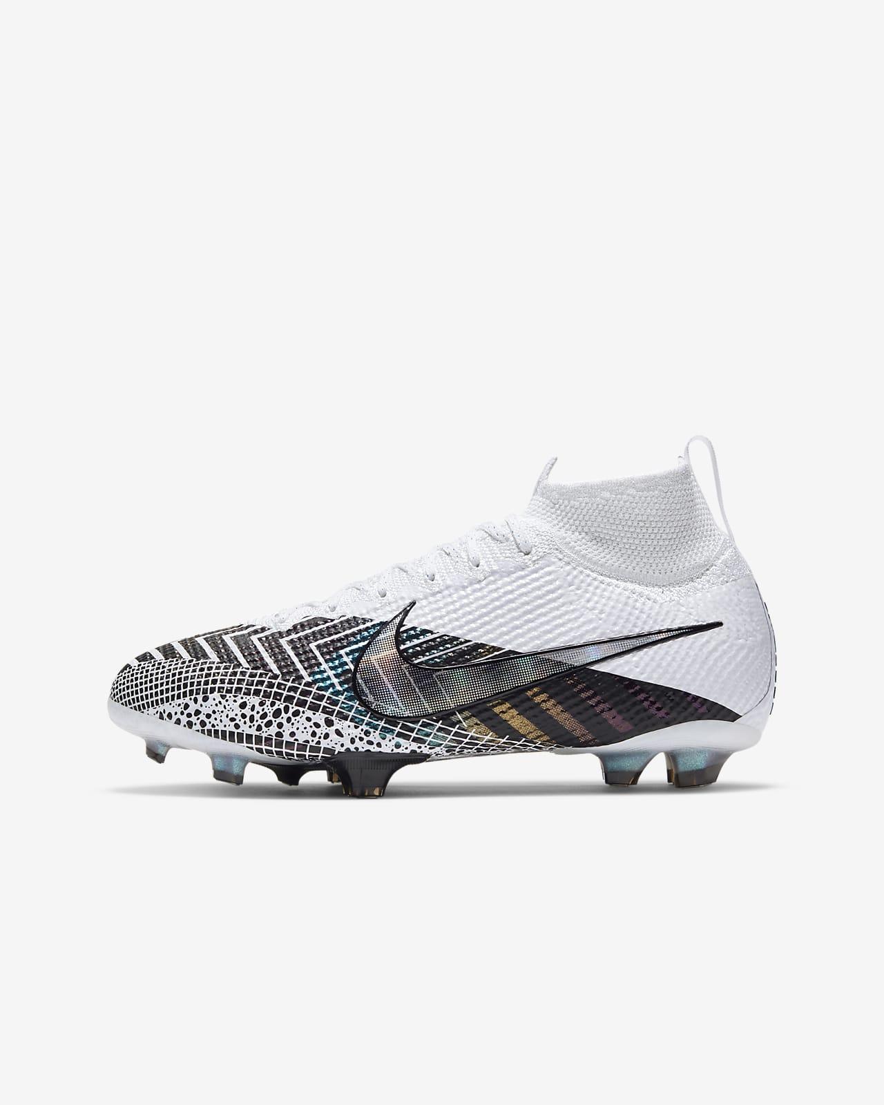 Chuteiras de futebol para terreno firme Nike Jr. Mercurial Superfly 7 Elite MDS FG Júnior