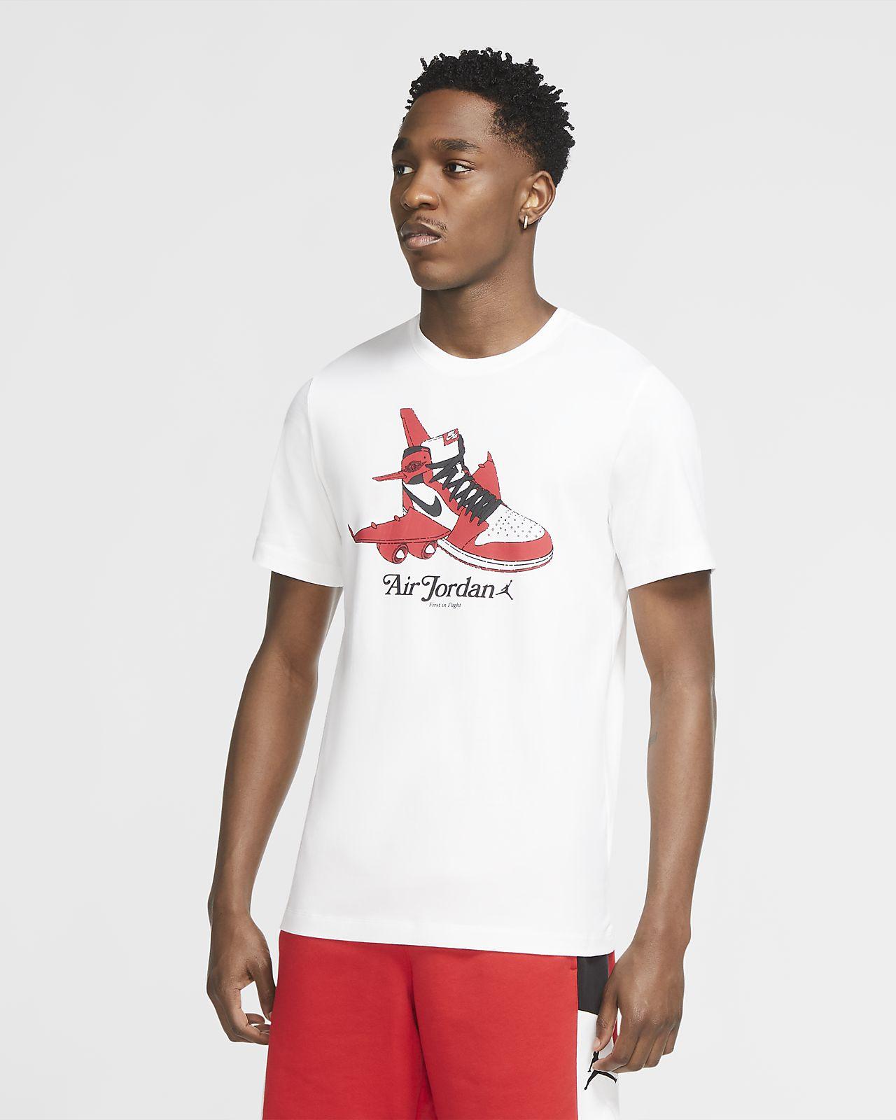Maglia a girocollo a manica corta con grafica Jordan Brand - Uomo