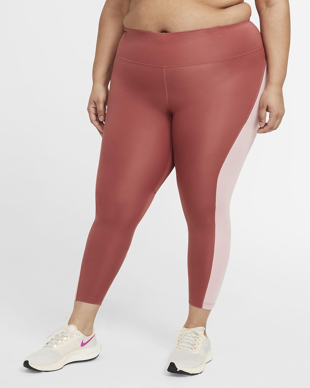 Nike Epic Fast Women's Mid-Rise 7/8 Running Leggings (Plus Size)