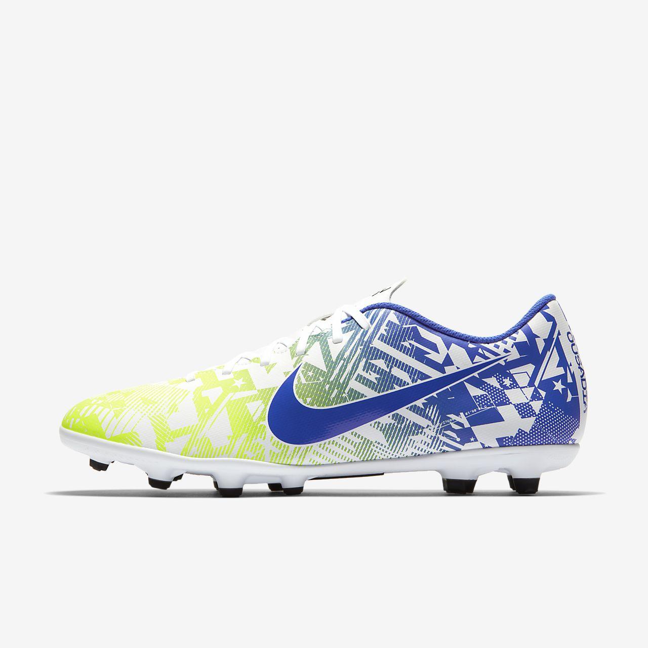 รองเท้าสตั๊ดฟุตบอลสำหรับพื้นหลายประเภท Nike Mercurial Vapor 13 Club Neymar Jr. MG