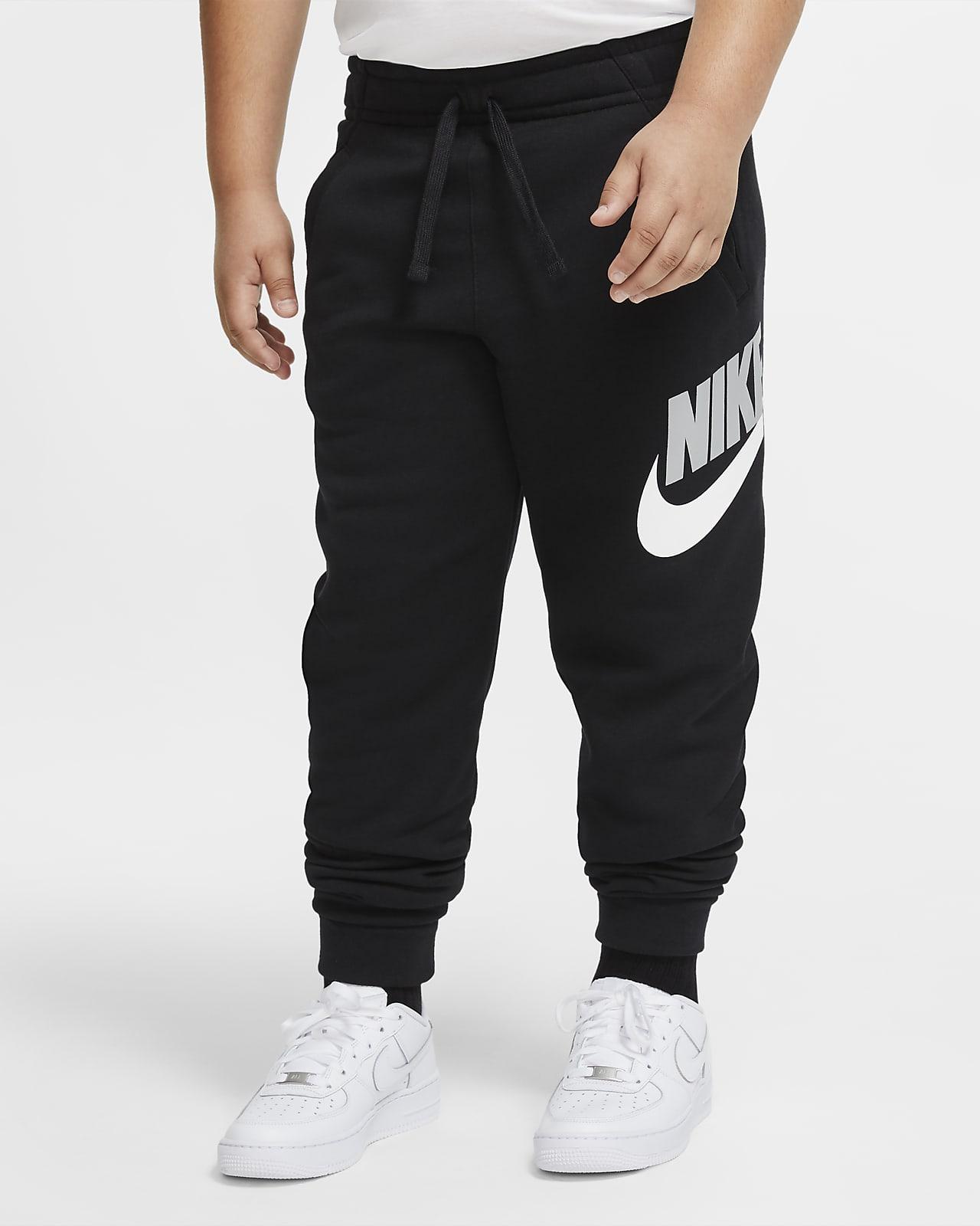 Calças Nike Sportswear Club Fleece Júnior (rapaz) (tamanhos grandes)