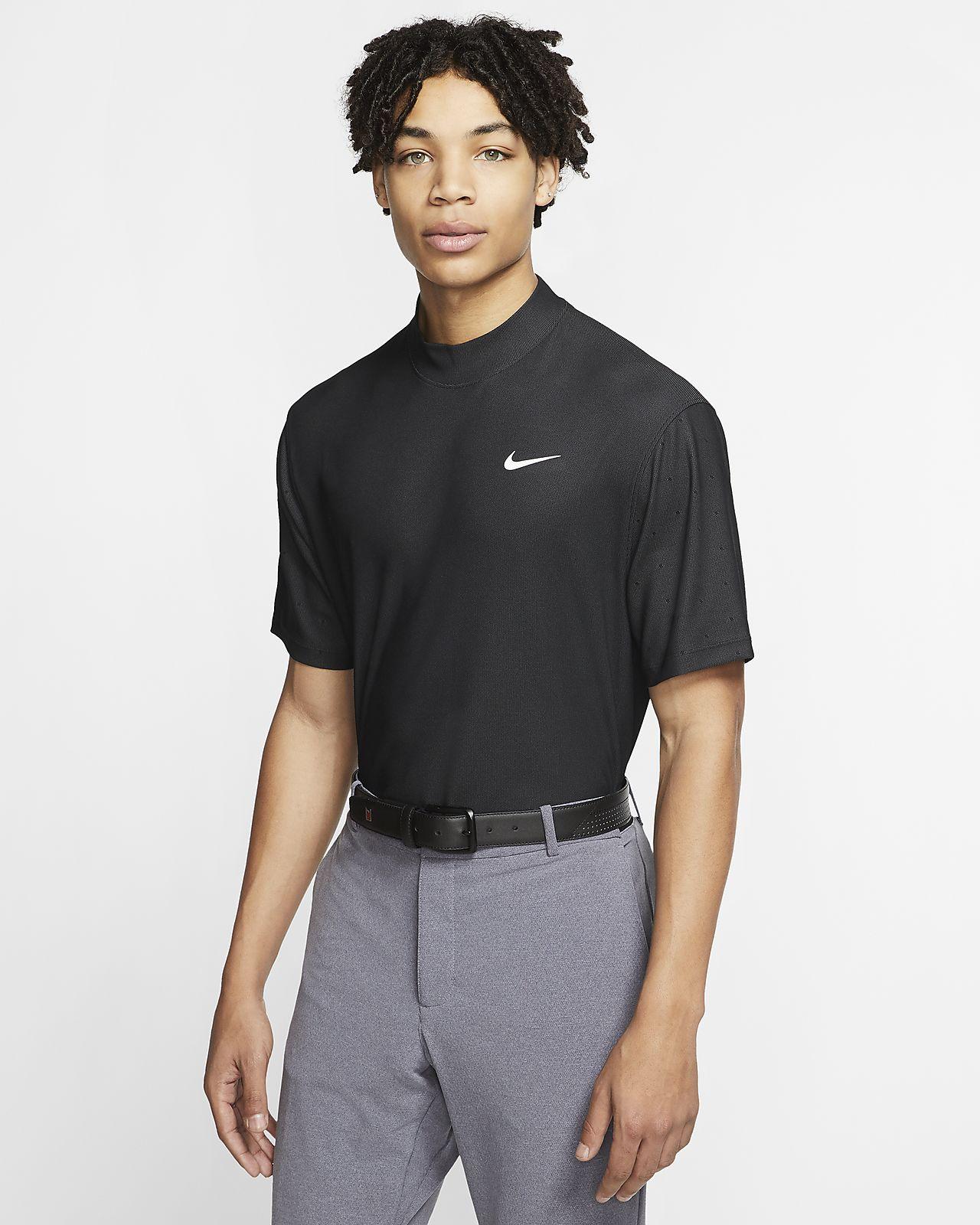 Nike Dri-FIT Tiger Woods Part superior de coll alt de golf - Home