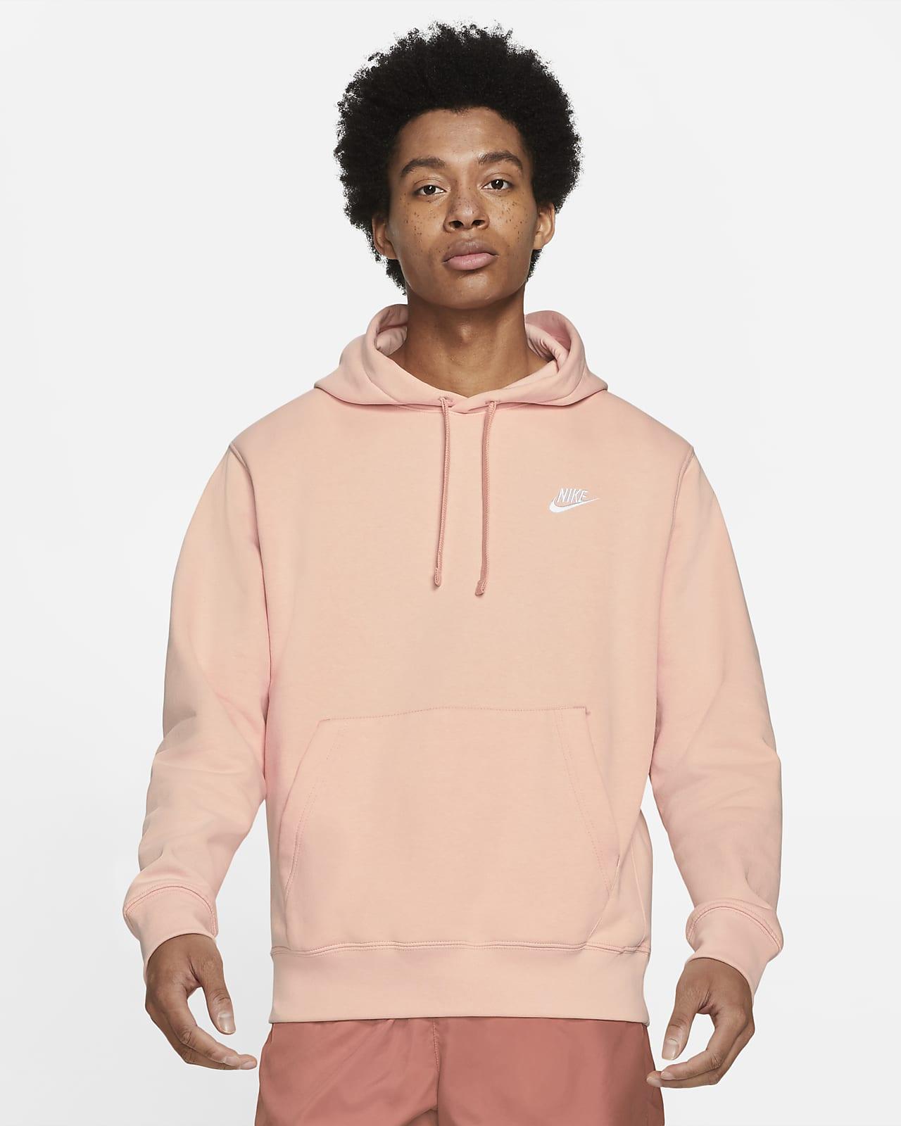 Huvtröja Nike Sportswear Club Fleece för män