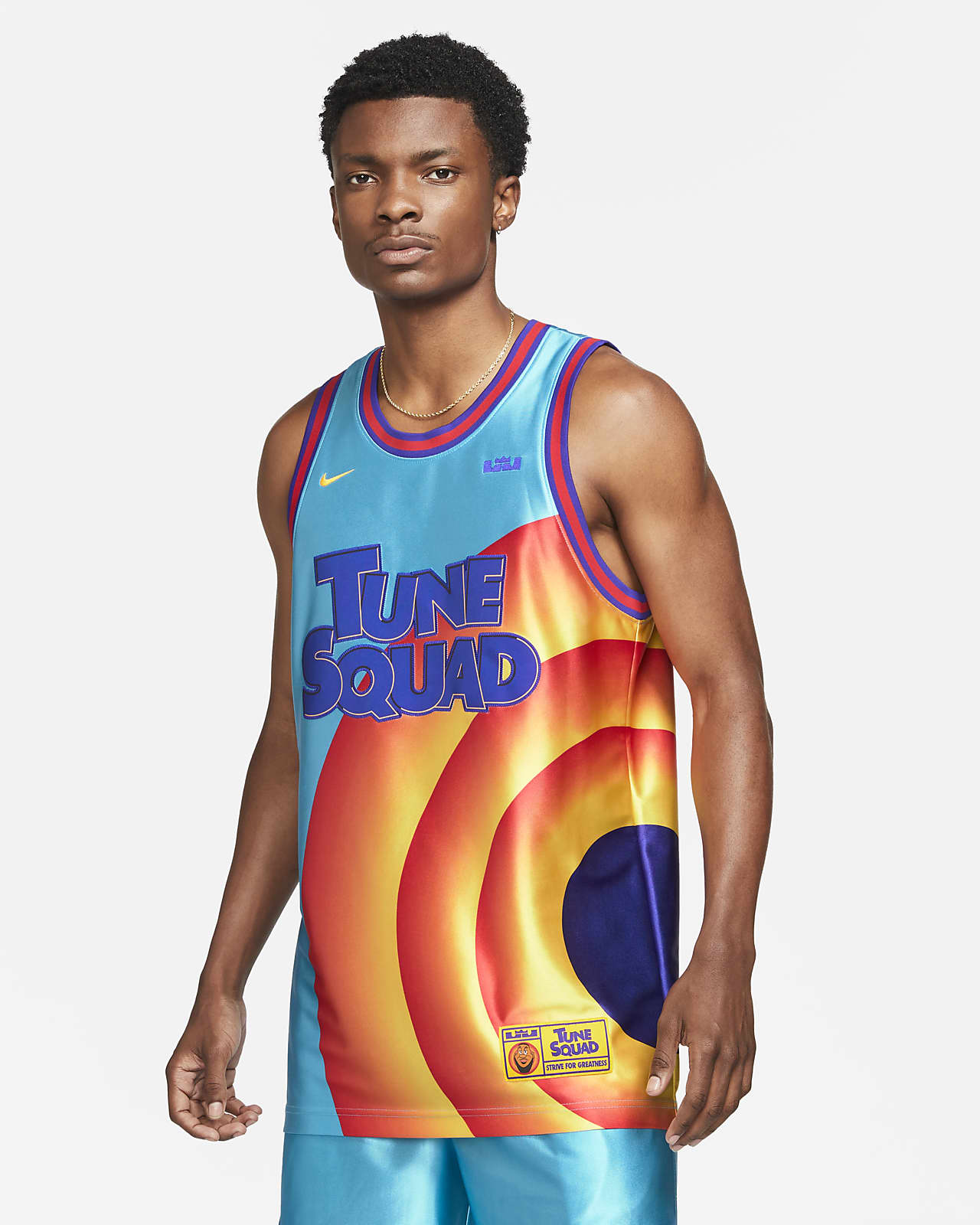 """LeBron x Space Jam: A New Legacy """"Tune Squad"""" Men's Nike Dri-FIT Jersey"""