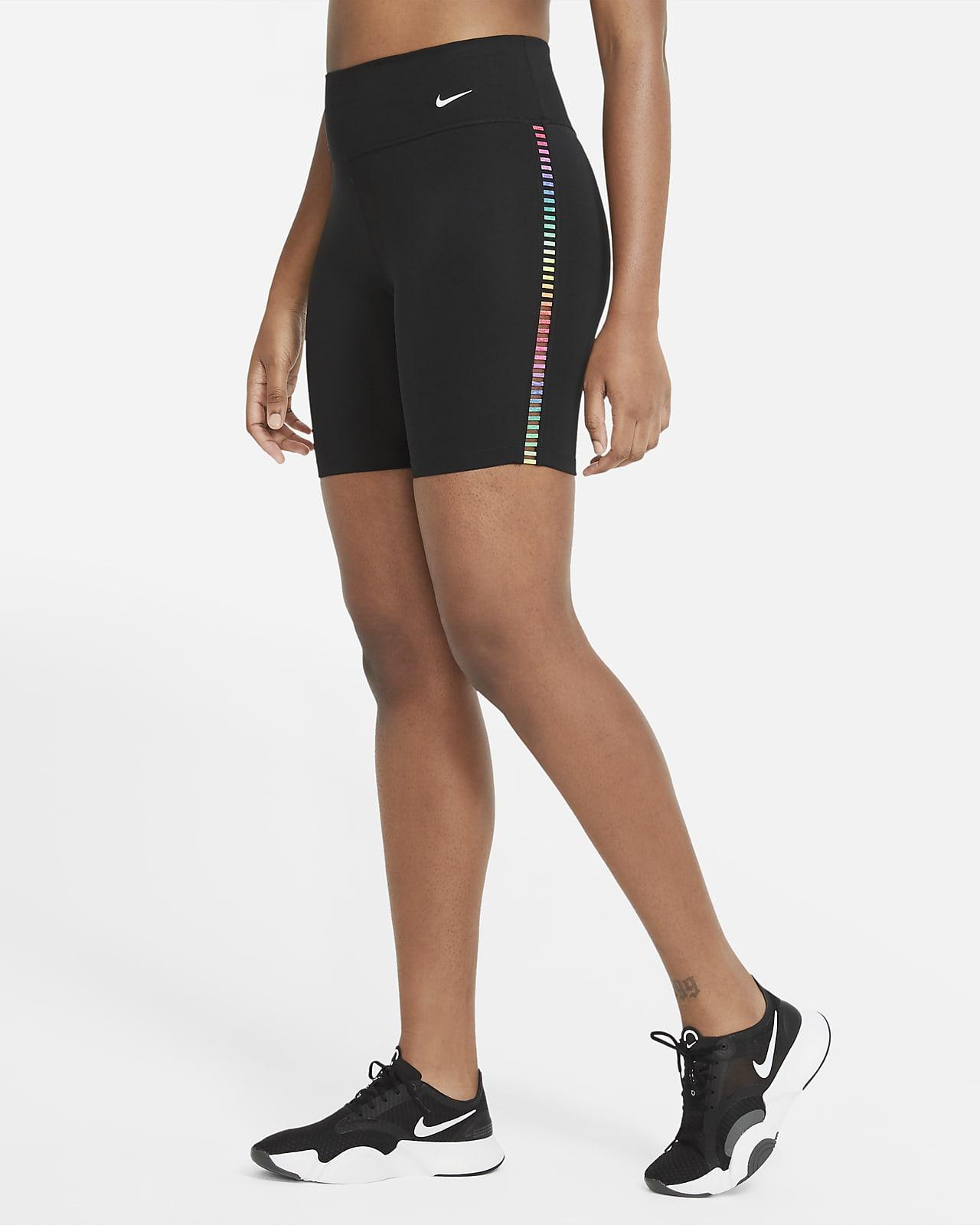 Shorts de 18 cm para mujer Nike One Rainbow Ladder