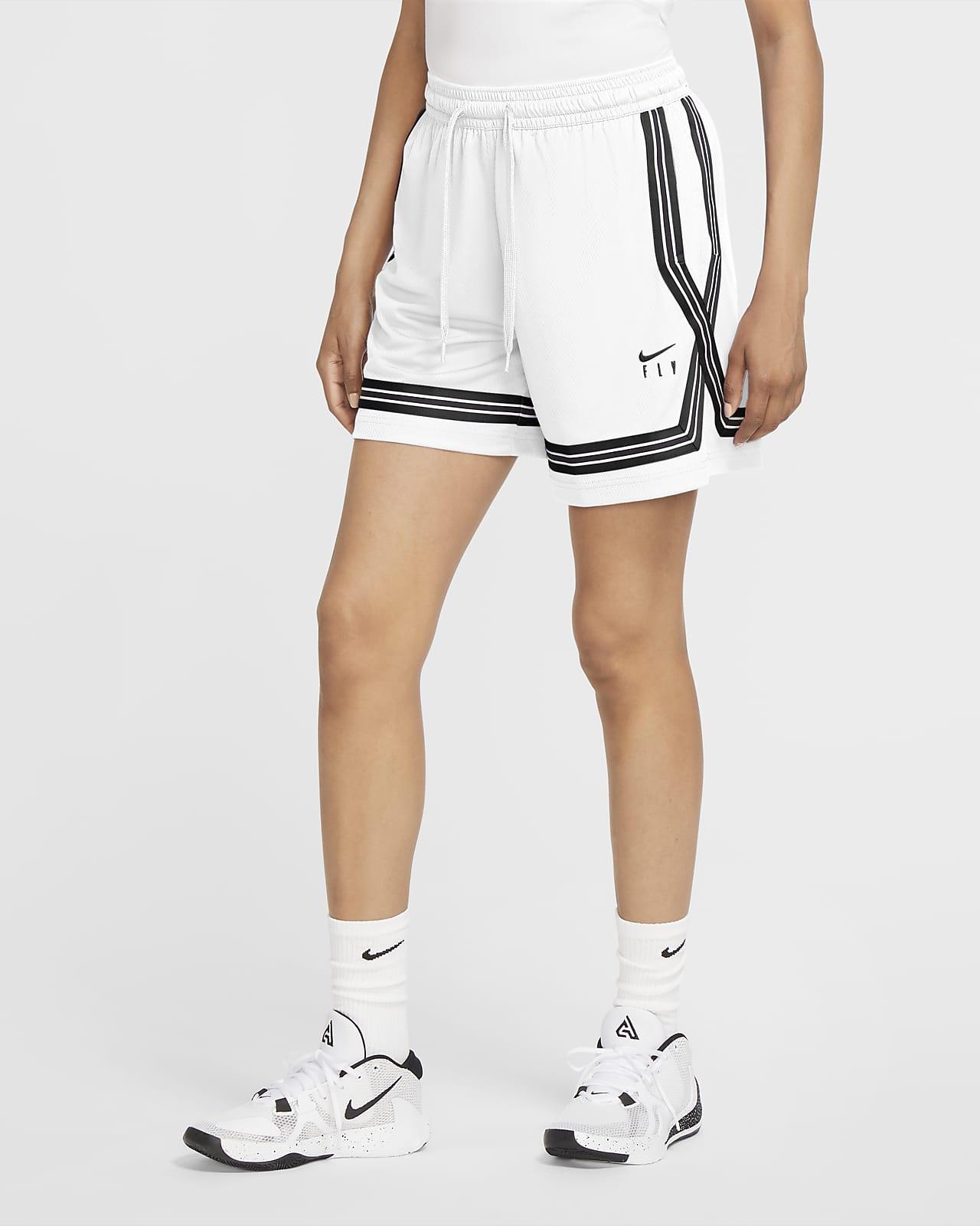 Shorts de básquetbol para mujer Nike Dri-FIT Swoosh Fly