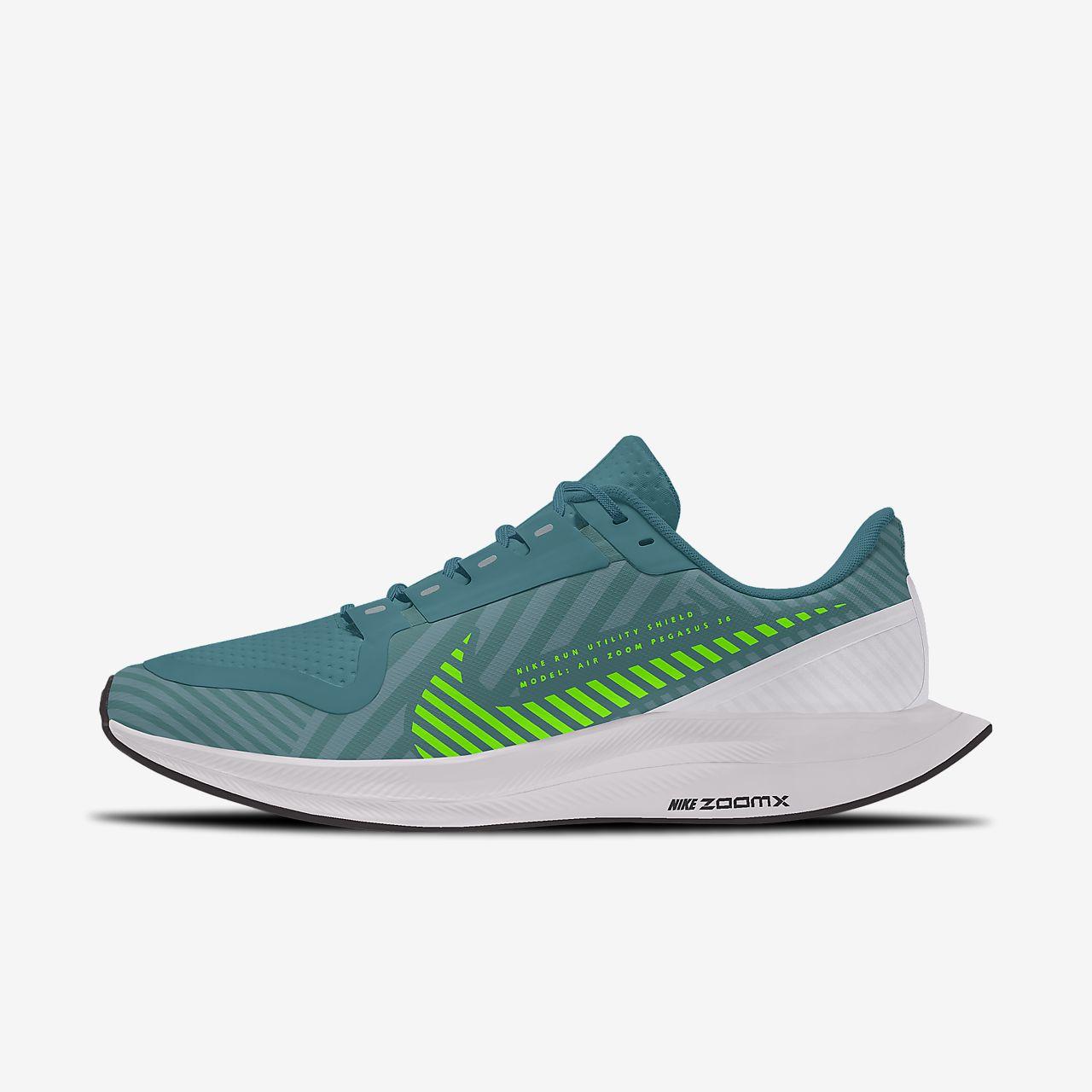 Nike Zoom Pegasus Turbo 2 Shield Low By You Custom Men's Running Shoe