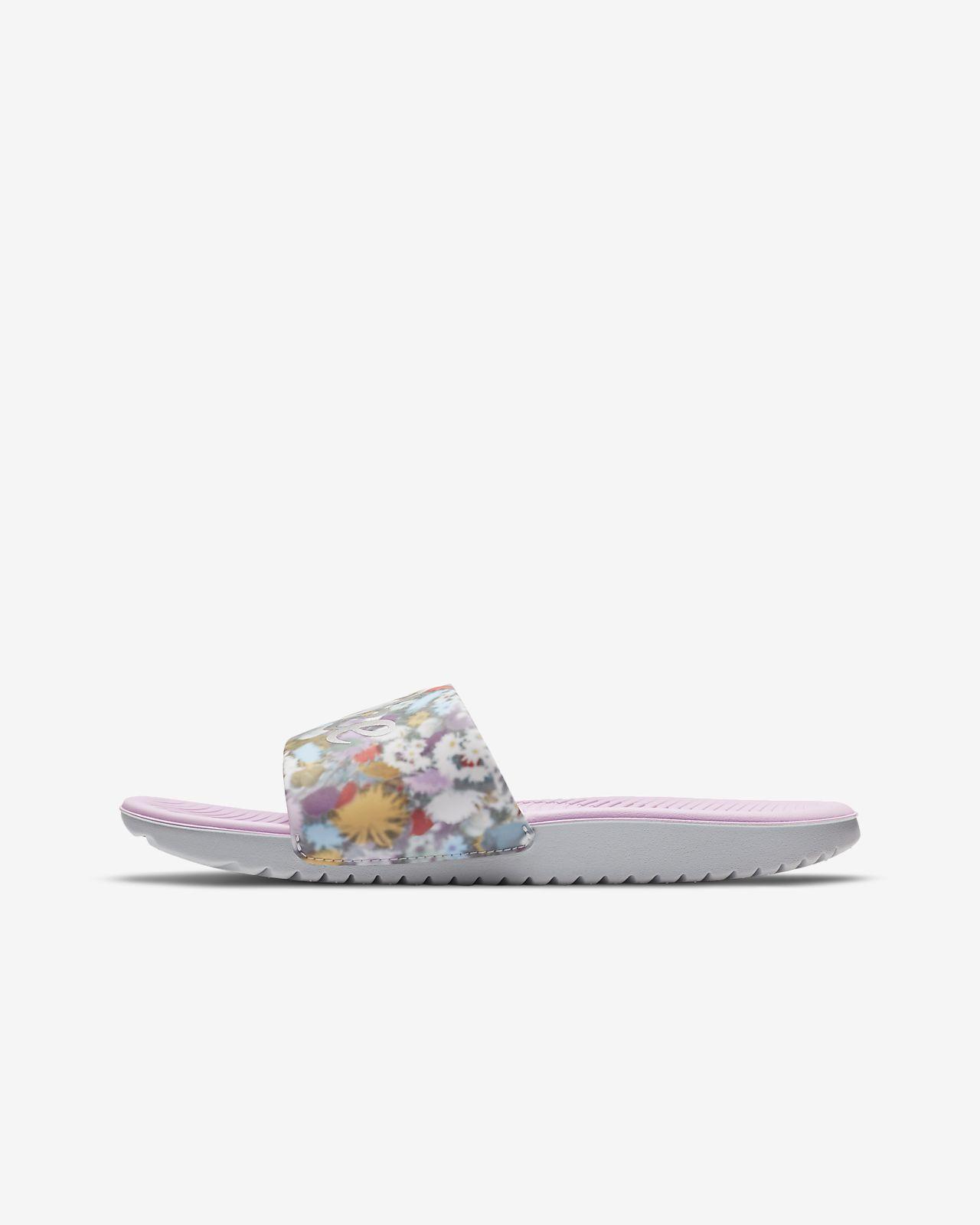รองเท้าแตะแบบสวมเด็กเล็ก/โต Nike Kawa SE