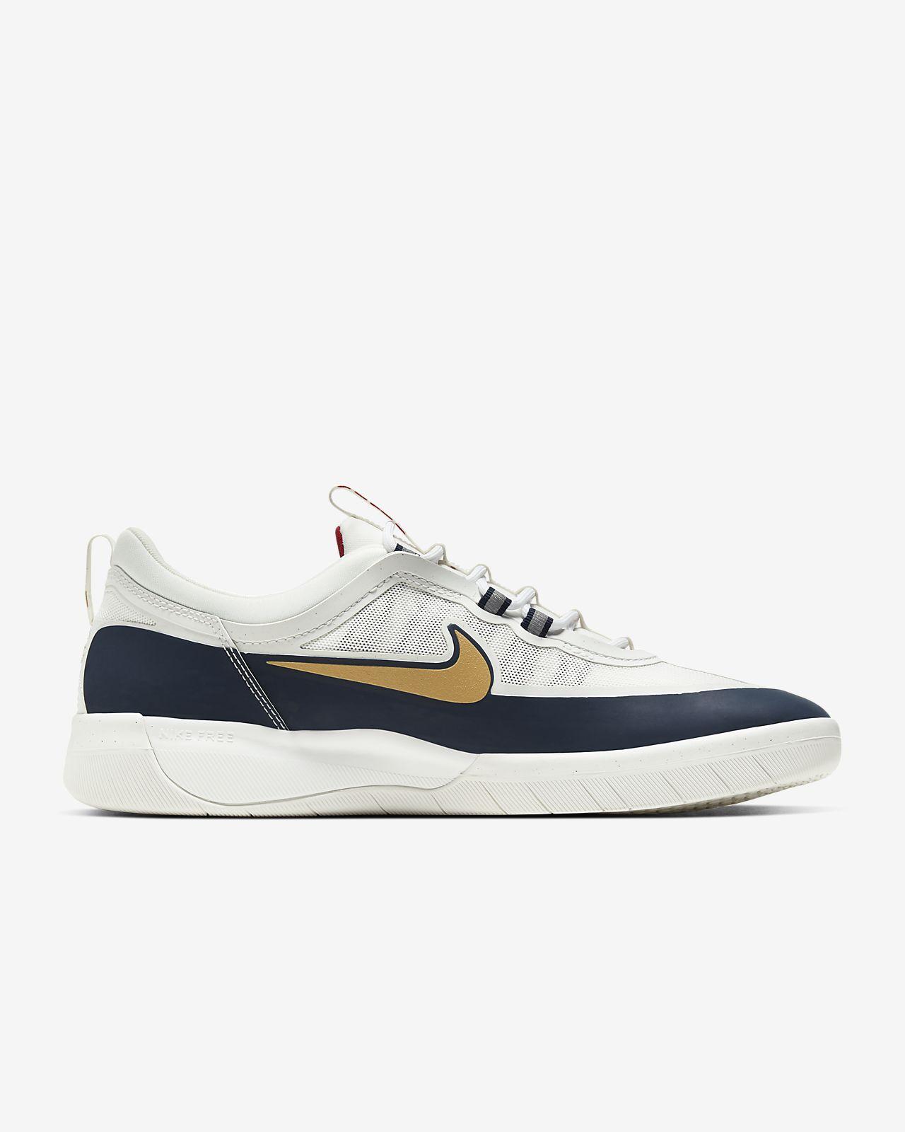 rebanada Barrio pintar  Nike SB Nyjah Free 2 Skate Shoe. Nike IL