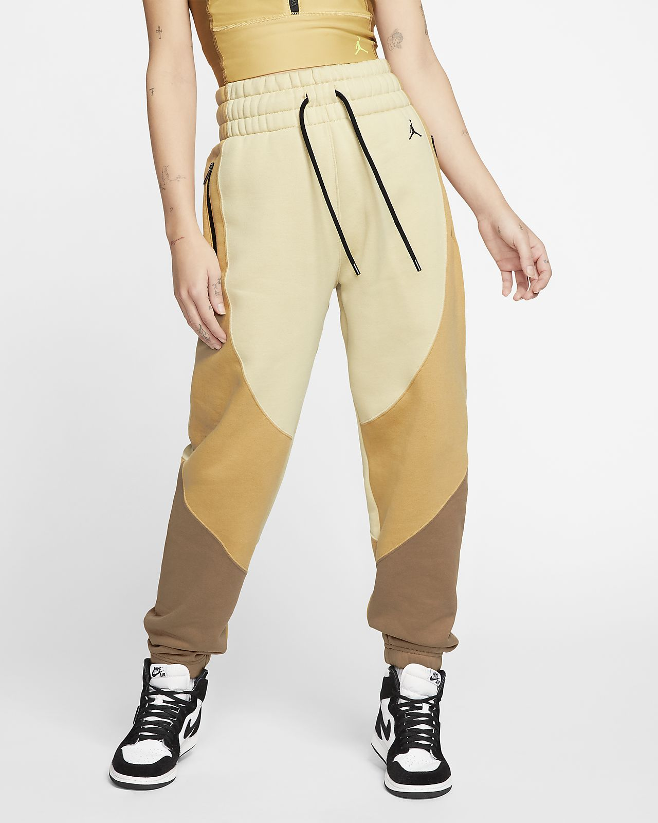 Pantalon en tissu Fleece Jordan pour Femme