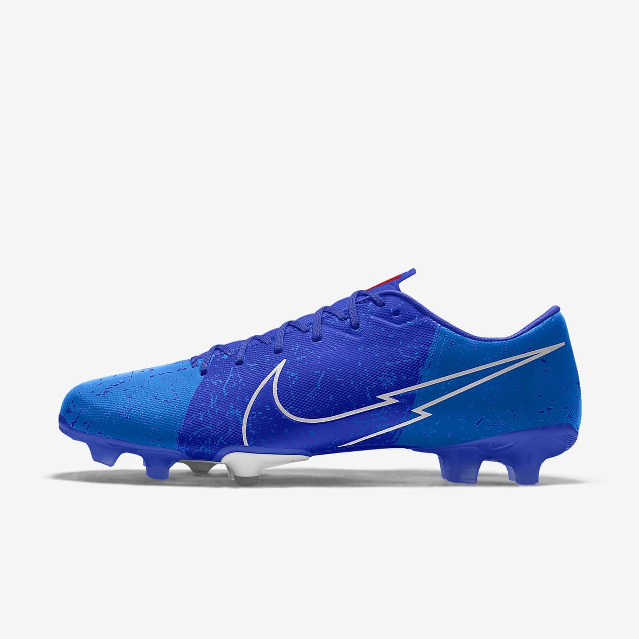 Nike Mercurial Vapor 13 Academy By You personalisierbarer Fußballschuh für normalen Rasen