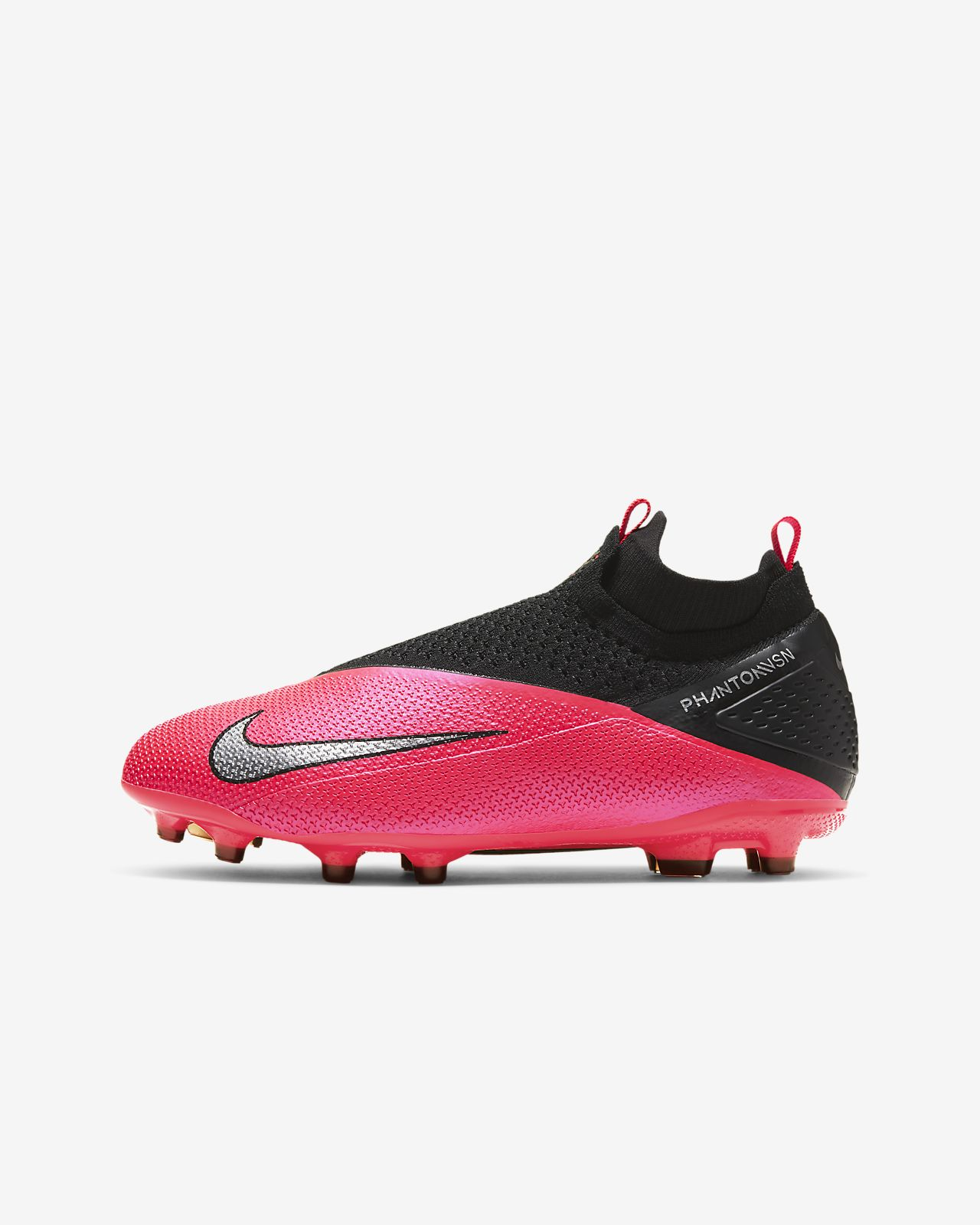 Nike Jr. Phantom Vision 2 Elite Dynamic Fit MG Older Kids' Multi Ground Football Boot