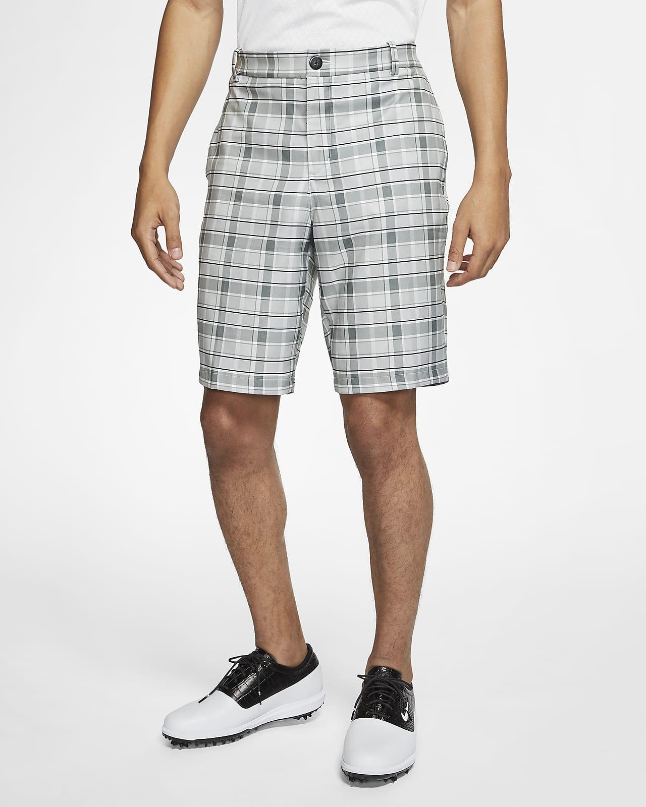 Shorts de golf a cuadros para hombre Nike Flex