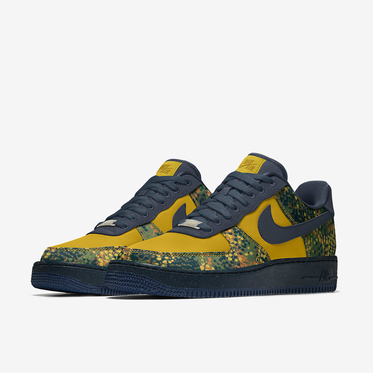 Chaussure lifestyle personnalisable Nike Air Force 1 Unlocked By You pour Femme