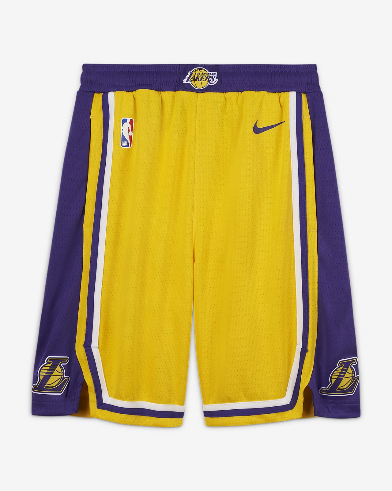 Los Angeles Lakers Icon Edition Older Kids' Nike NBA Swingman Shorts