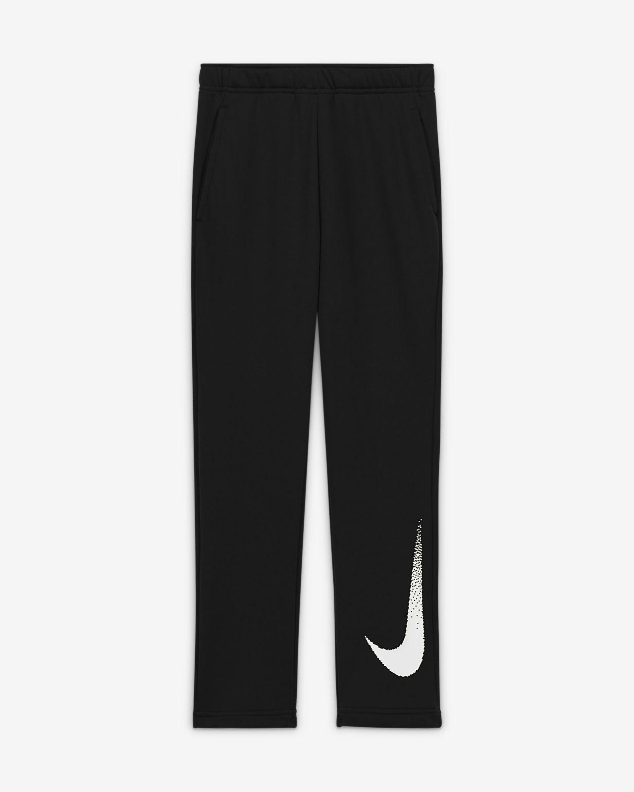 Pantalon en tissu Fleece à motif Nike Dri-FIT pour Garçon plus âgé