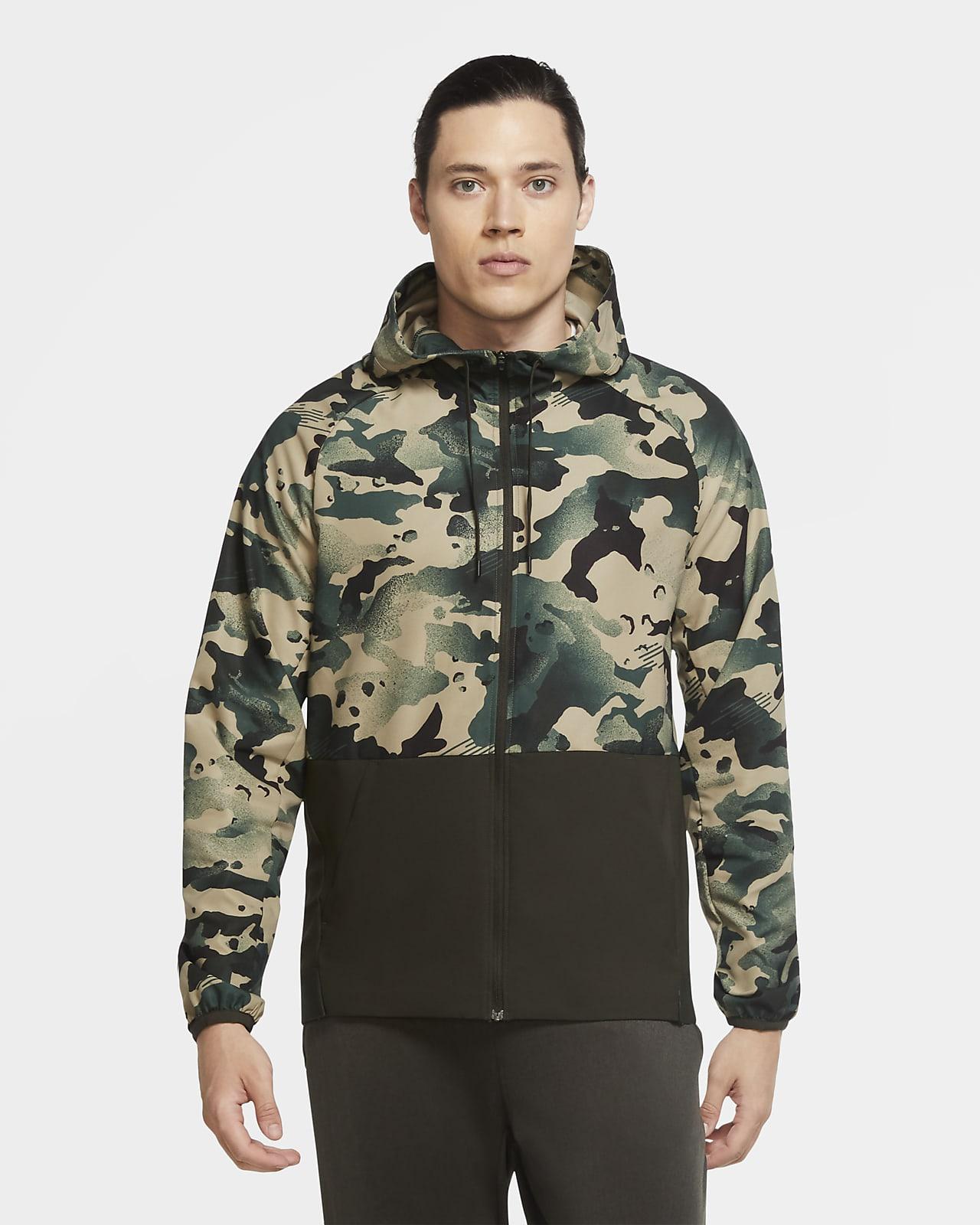 Veste camouflage à zip Nike Pro Flex Vent pour Homme