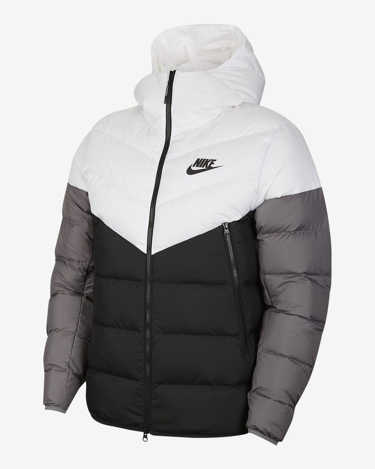 Jacka med huva Nike Sportswear Down-Fill Windrunner för män