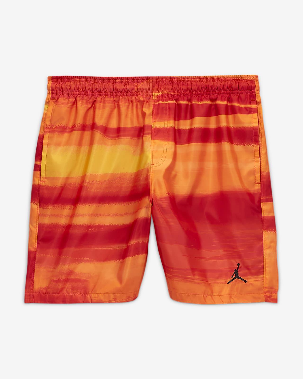 กางเกงขาสั้นผู้ชายพิมพ์ลาย Jordan Legacy AJ11
