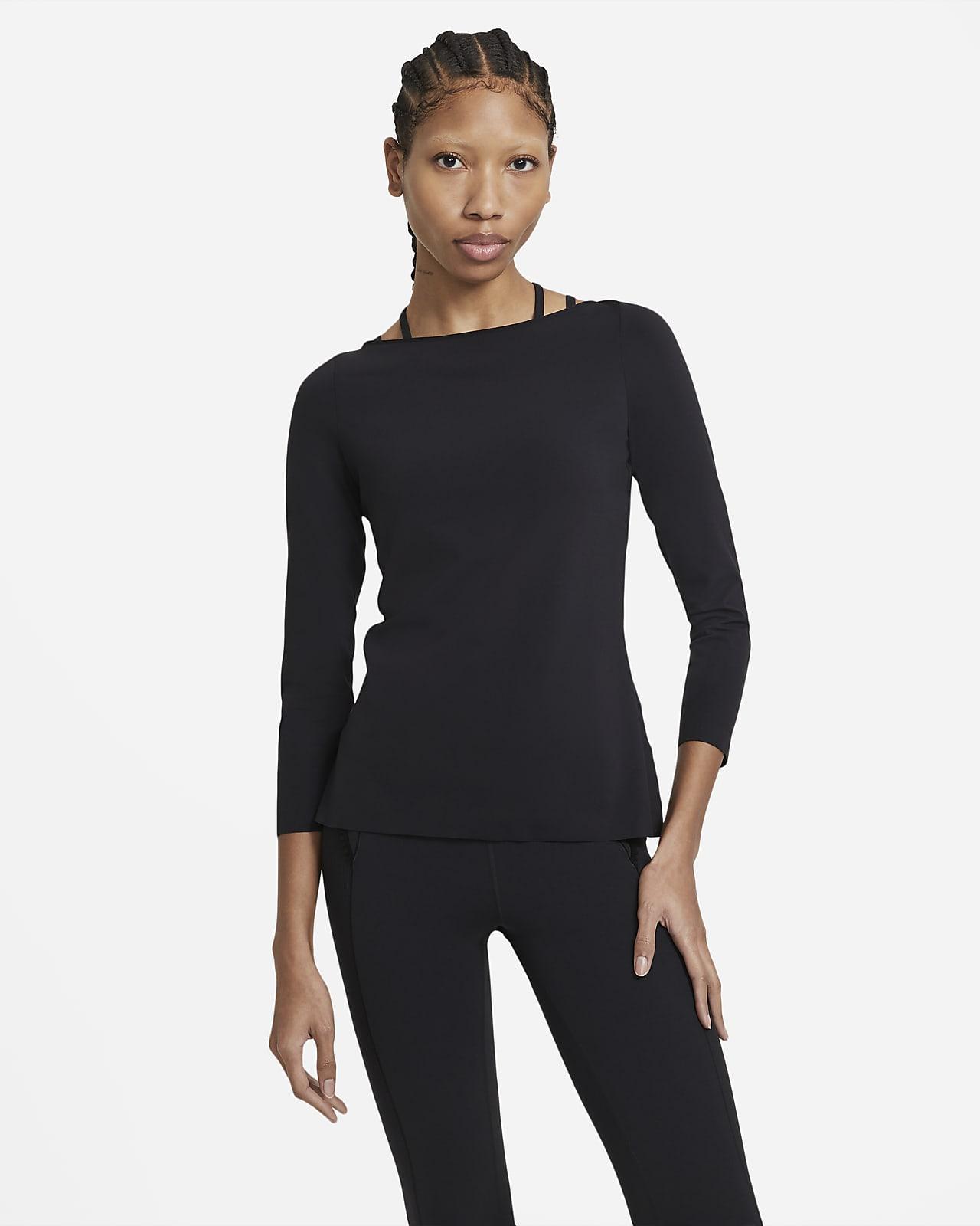 Γυναικεία μακρυμάνικη μπλούζα Nike Yoga Luxe