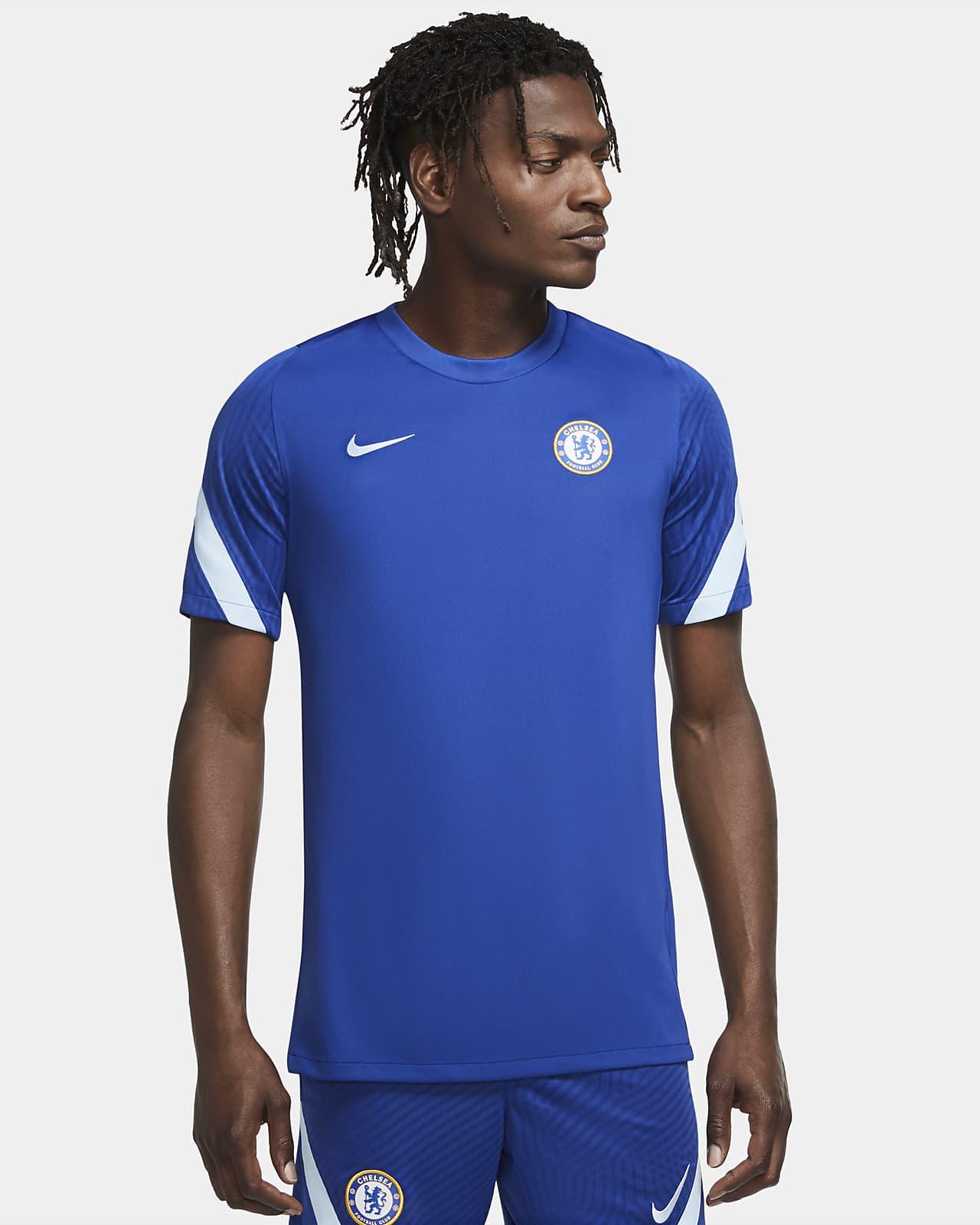 Chelsea FC Strike Kurzarm-Fußballoberteil für Herren