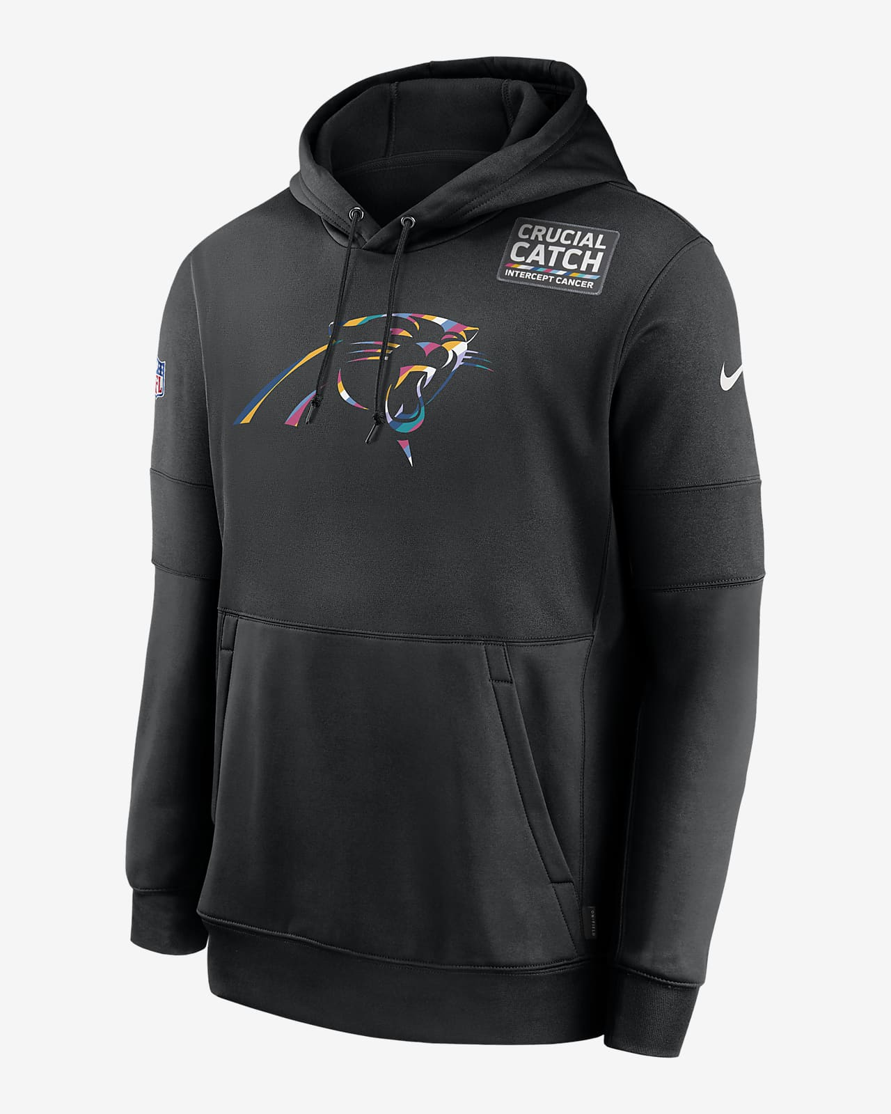 Nike Therma Crucial Catch (NFL Panthers) Men's Hoodie