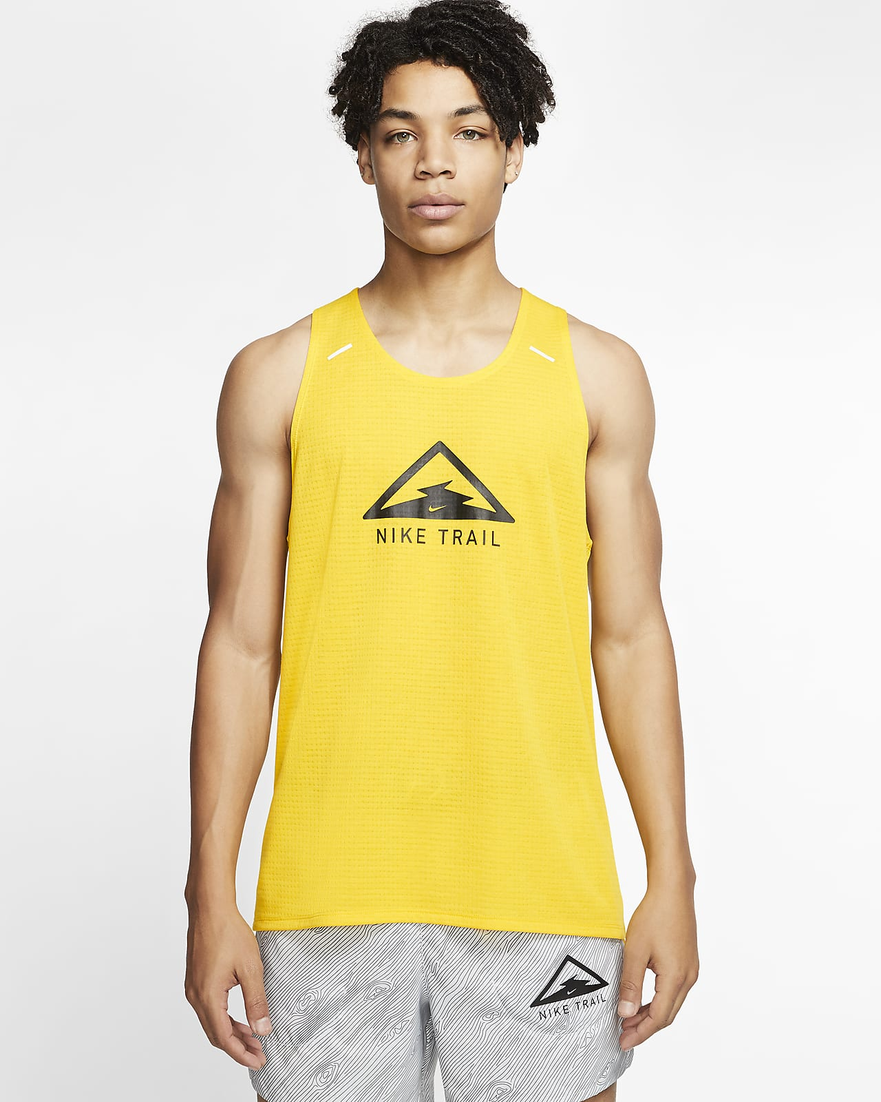Nike Rise 365 Camiseta de tirantes de trail running - Hombre