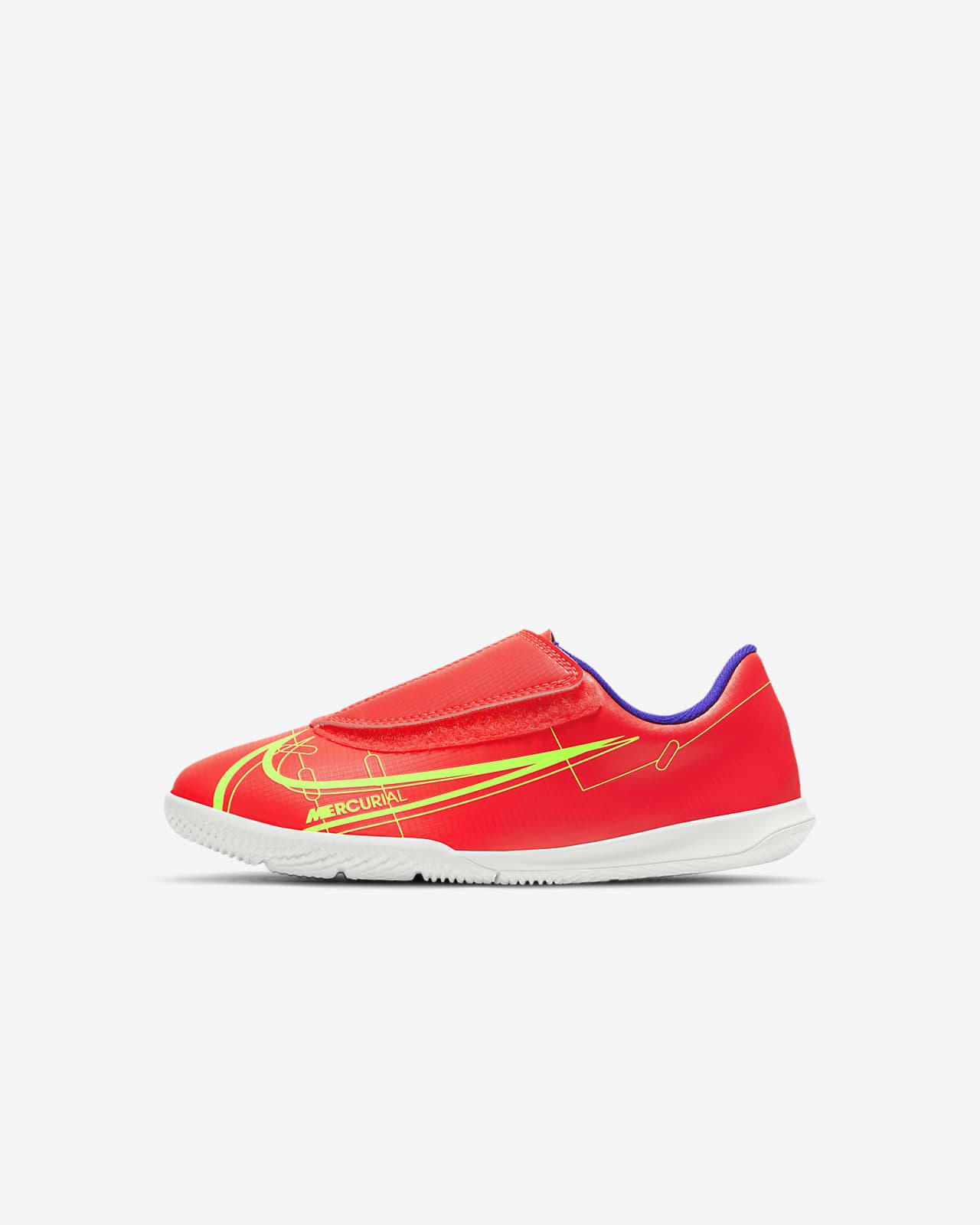 Nike Jr. Mercurial Vapor 14 Club IC fotballsko til innendørsbane/gate til små barn