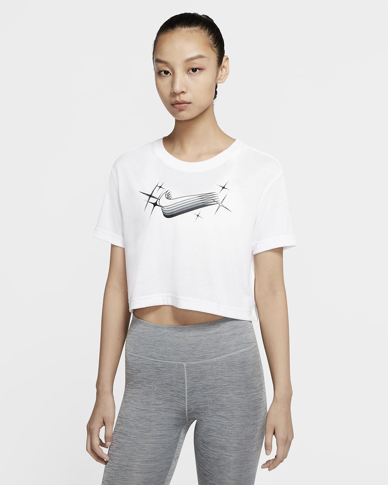 Nike Dri-FIT 女子短款训练T恤