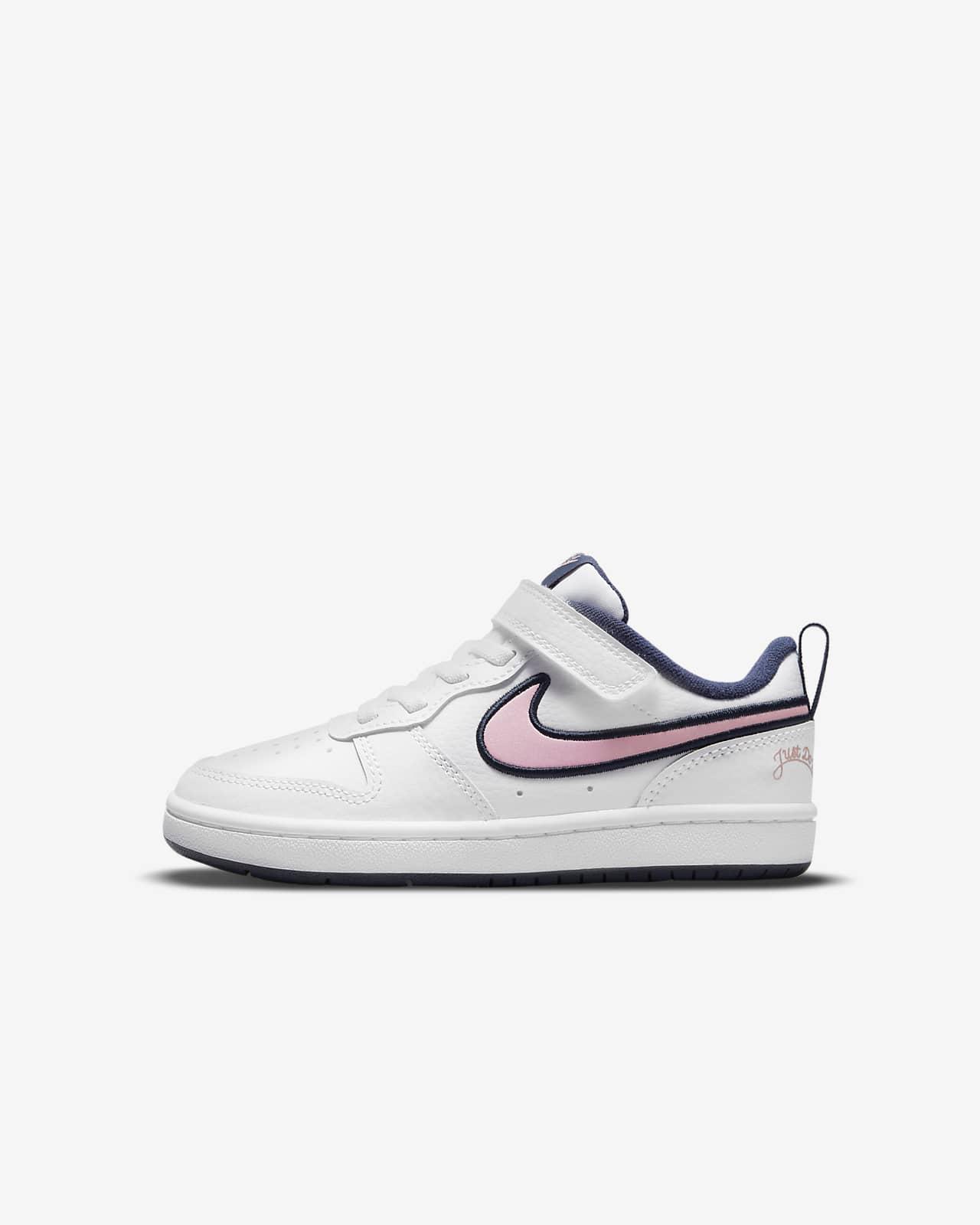 Nike Court Borough Low 2 SE Little Kids' Shoes