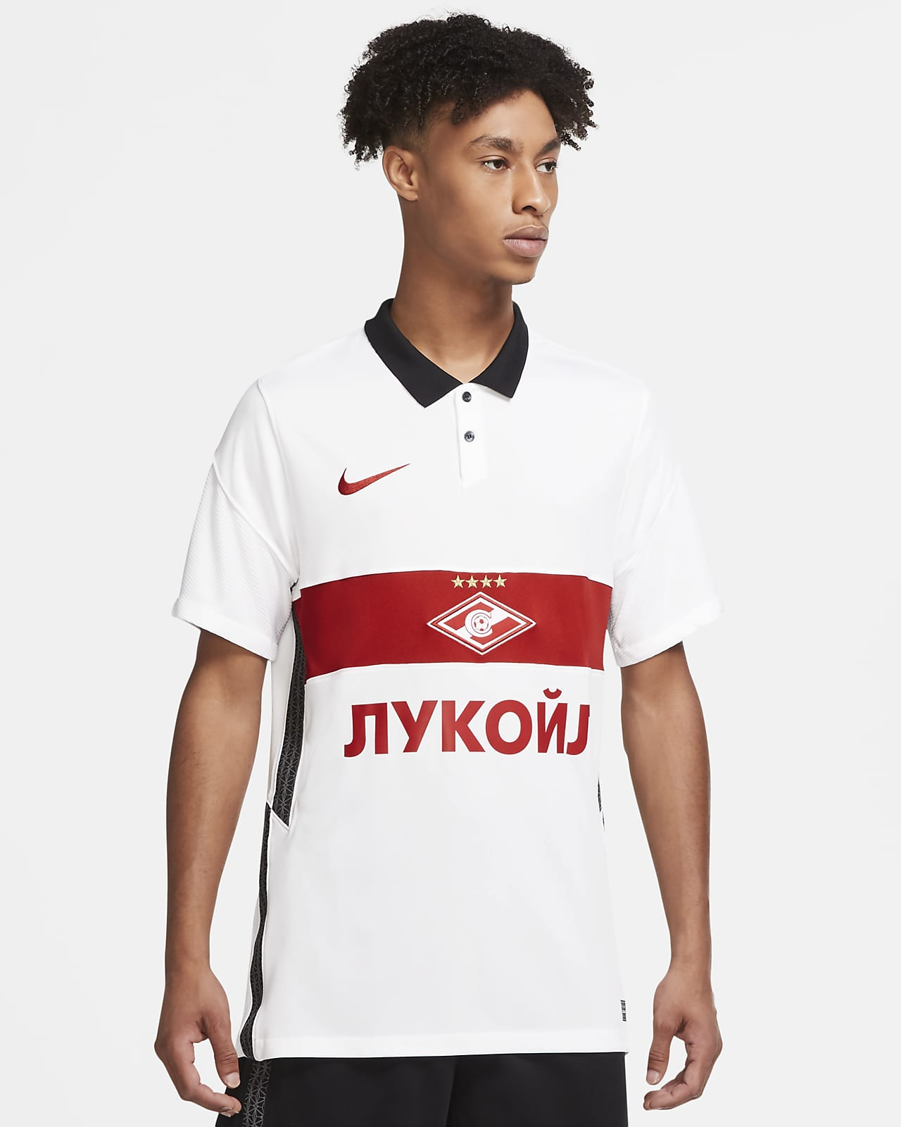 Spartak Moscow 2020/21 Stadium Away Men's Football Shirt