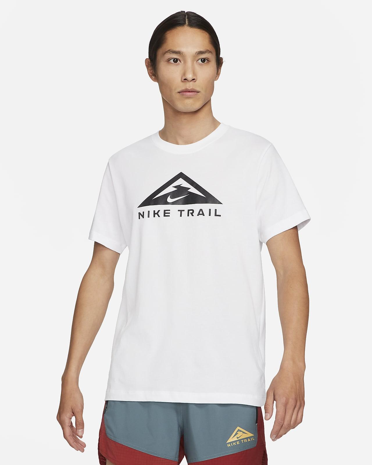 Nike Dri-FIT Trailrunningshirt met korte mouwen
