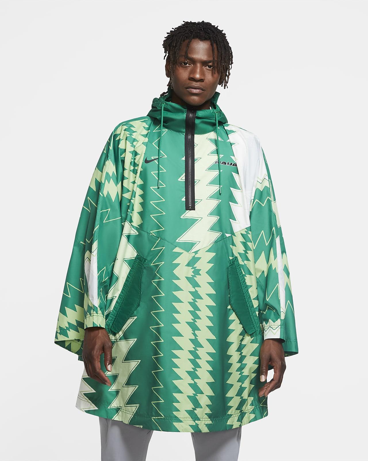 เสื้อพอนโชผู้ชายแบบทอ Nigeria