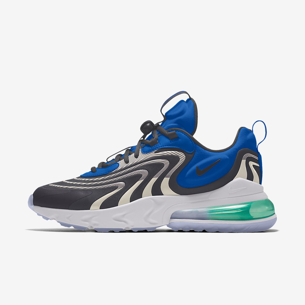Chaussure lifestyle personnalisable Nike Air Max 270 React ENG Premium By You