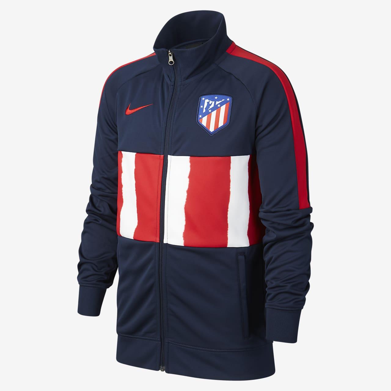Atlético de Madrid Older Kids' Football Tracksuit Jacket