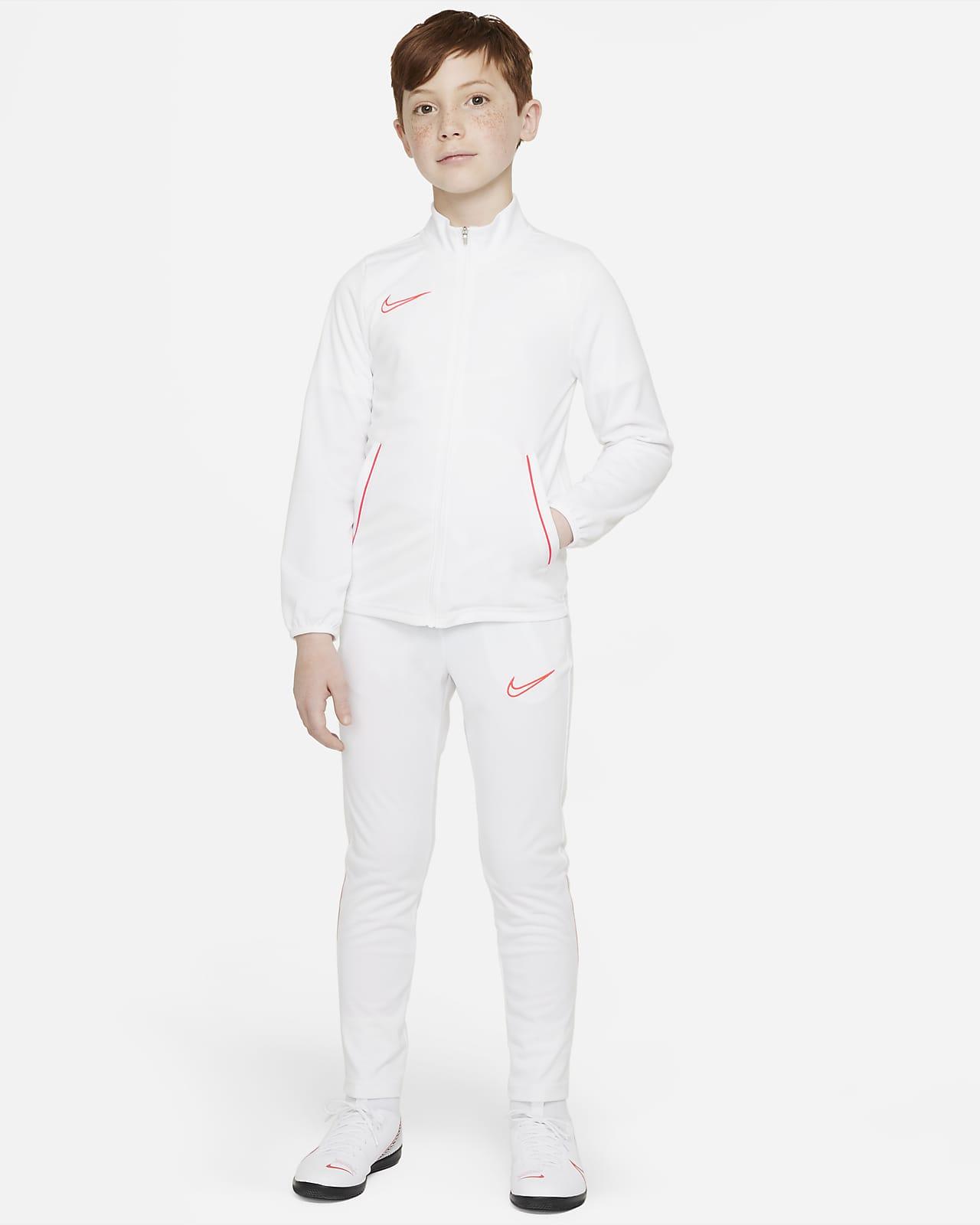Nike Dri-FIT Academy Örgü Genç Çocuk Futbol Eşofmanı