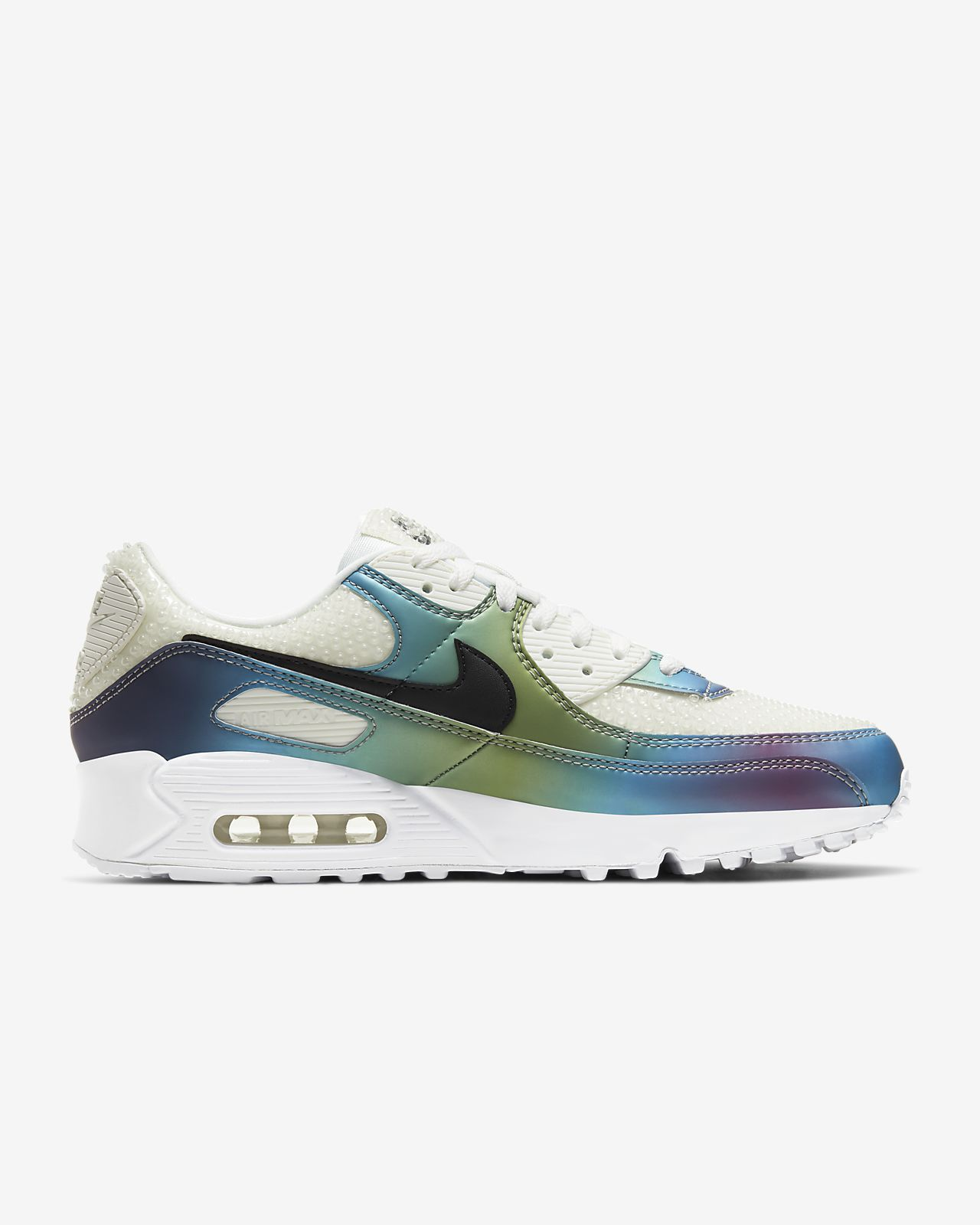 Nike Air Max 90 Premium Summit White | Sneakerdiscounter.nl