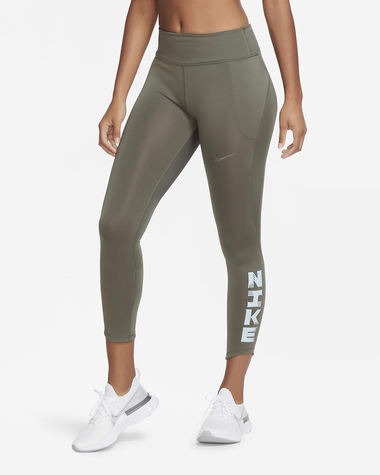 Nike Icon Clash Fast 女款跑步九分緊身褲