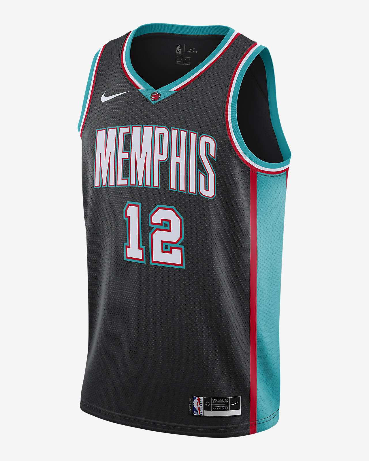 Maglia Memphis Grizzlies Classic Edition 2020 Swingman Nike NBA