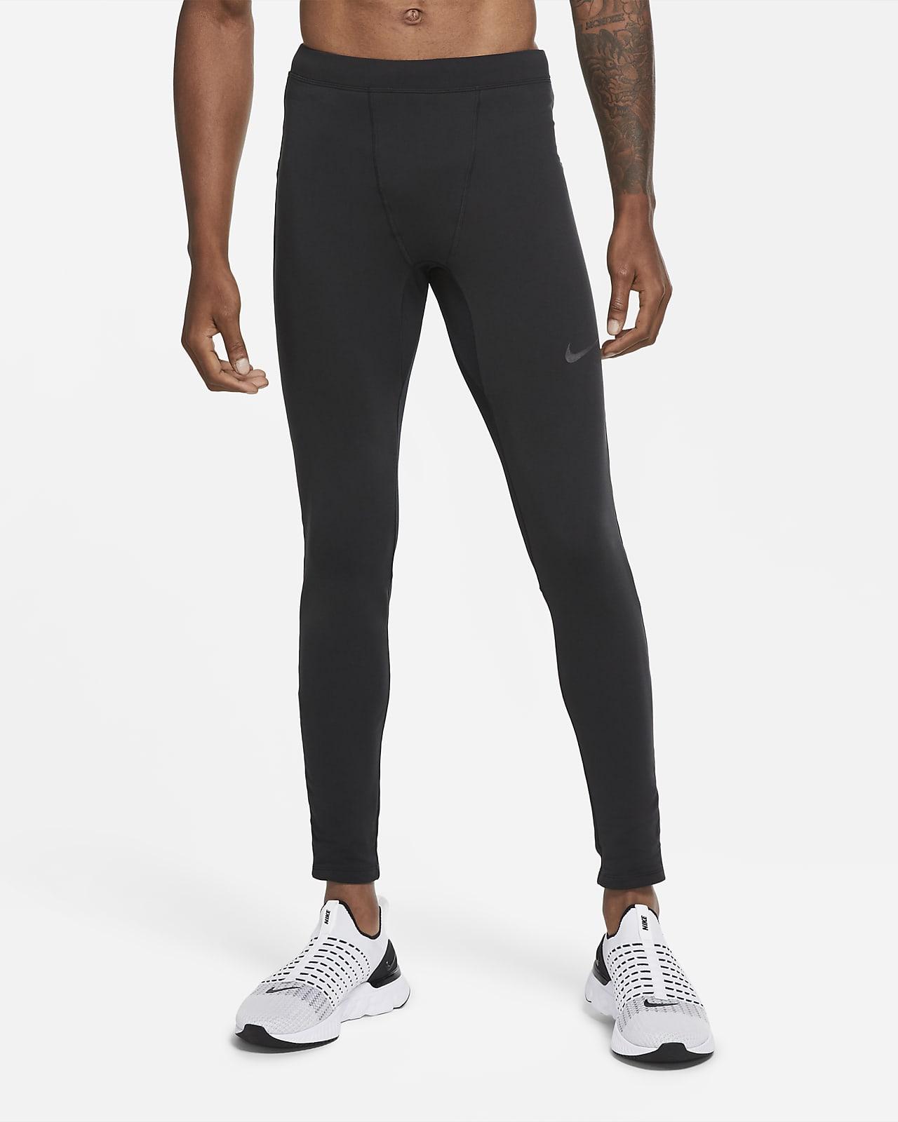 Męskie legginsy termiczne do biegania Nike Run