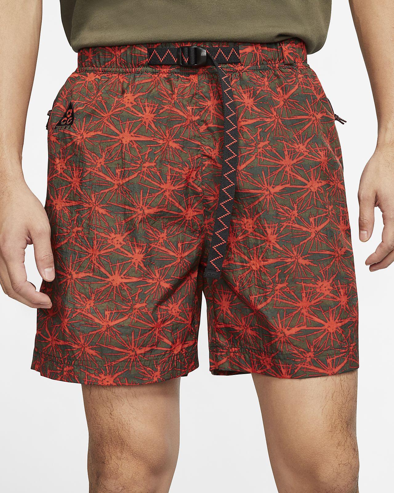 Nike ACG 男款滿版印花梭織短褲