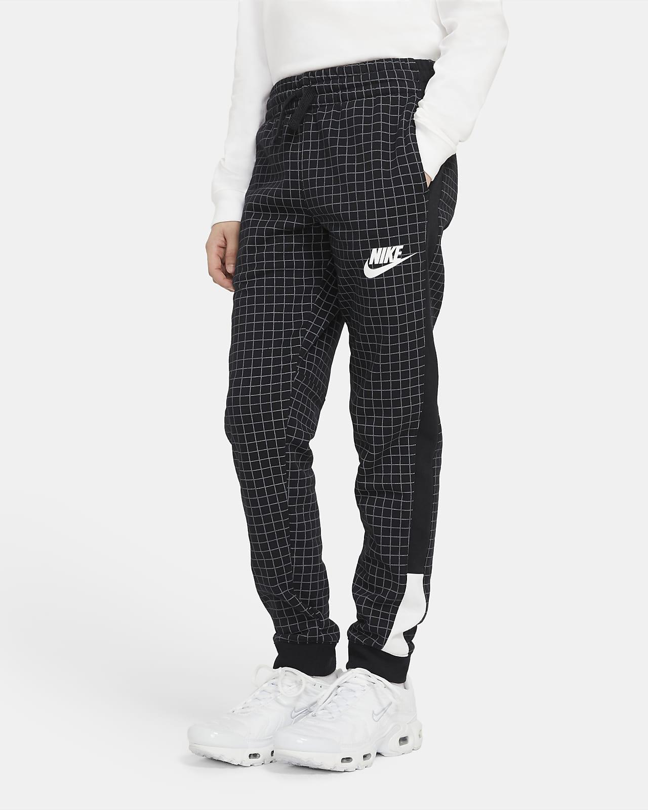 Flísové kalhoty Nike Sportswear pro větší děti (chlapce)