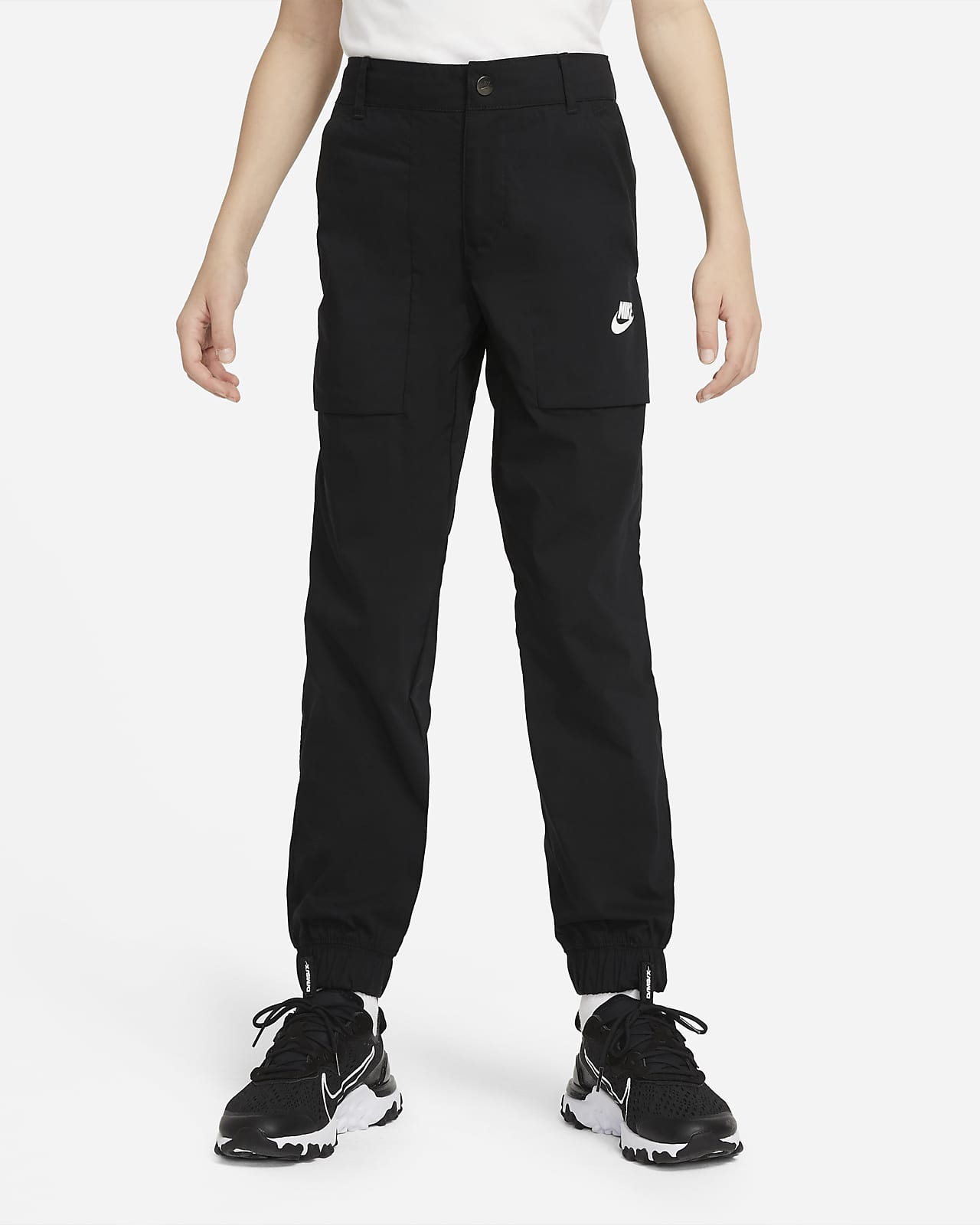 Pantalones cargo de tejido Woven para niños talla grande Nike Sportswear