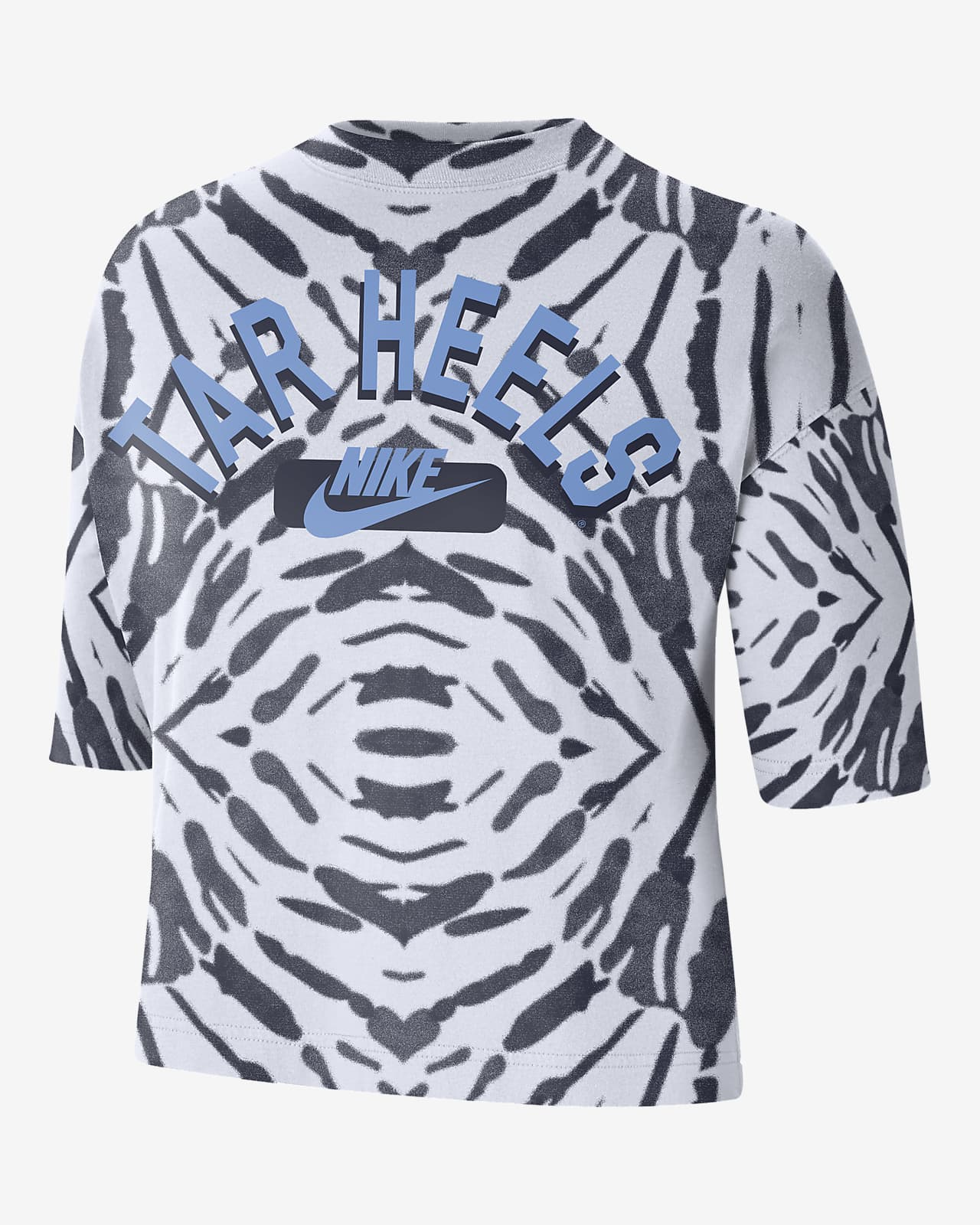Nike College (UNC) Women's Boxy Printed T-Shirt